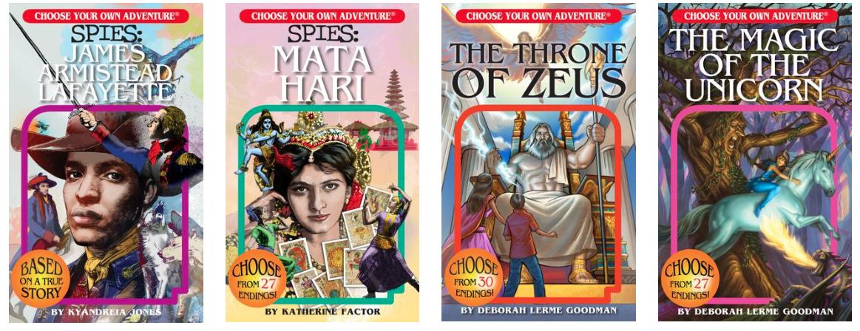 Chooseco es una compañía de publicaciones fundada por el autor de niños R. A. Montgomery para volver a publicar volúmenes en la serie de juegos Elección de su propia aventura.