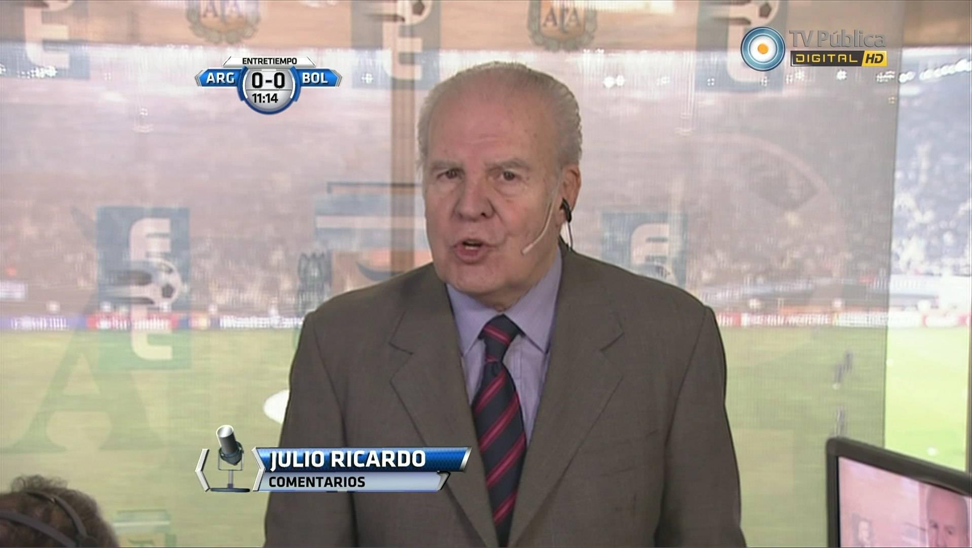 Julio Ricardo en Fútbol para Todos