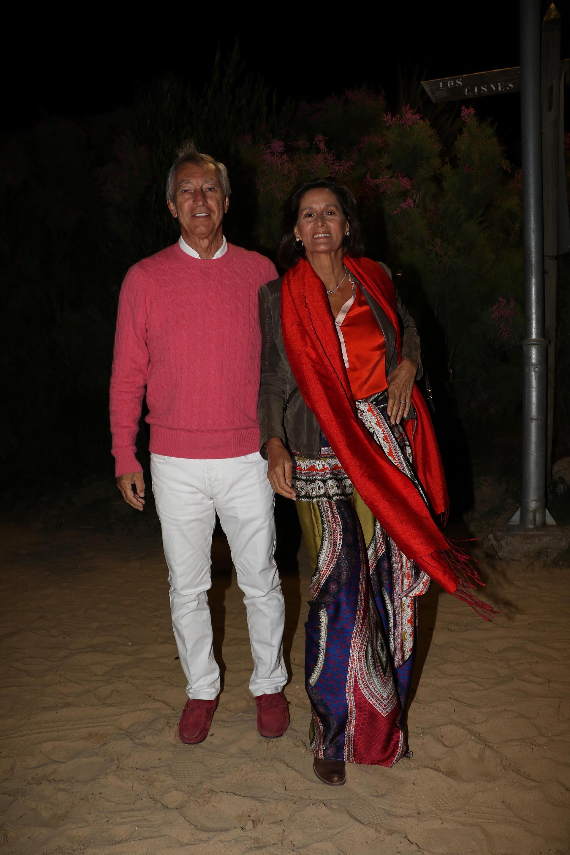 German Neuss y su mujer, Gabriela Flores Piran