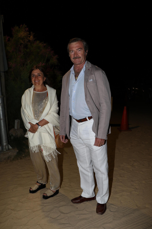 Máximo Fonrouge y su mujer