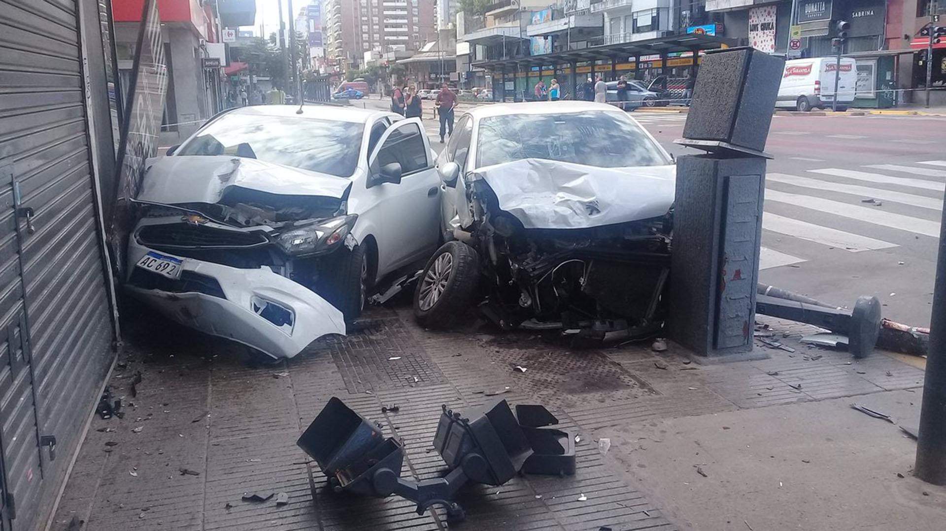 Cuatro heridos dejó el choque (@Marluna84031249)