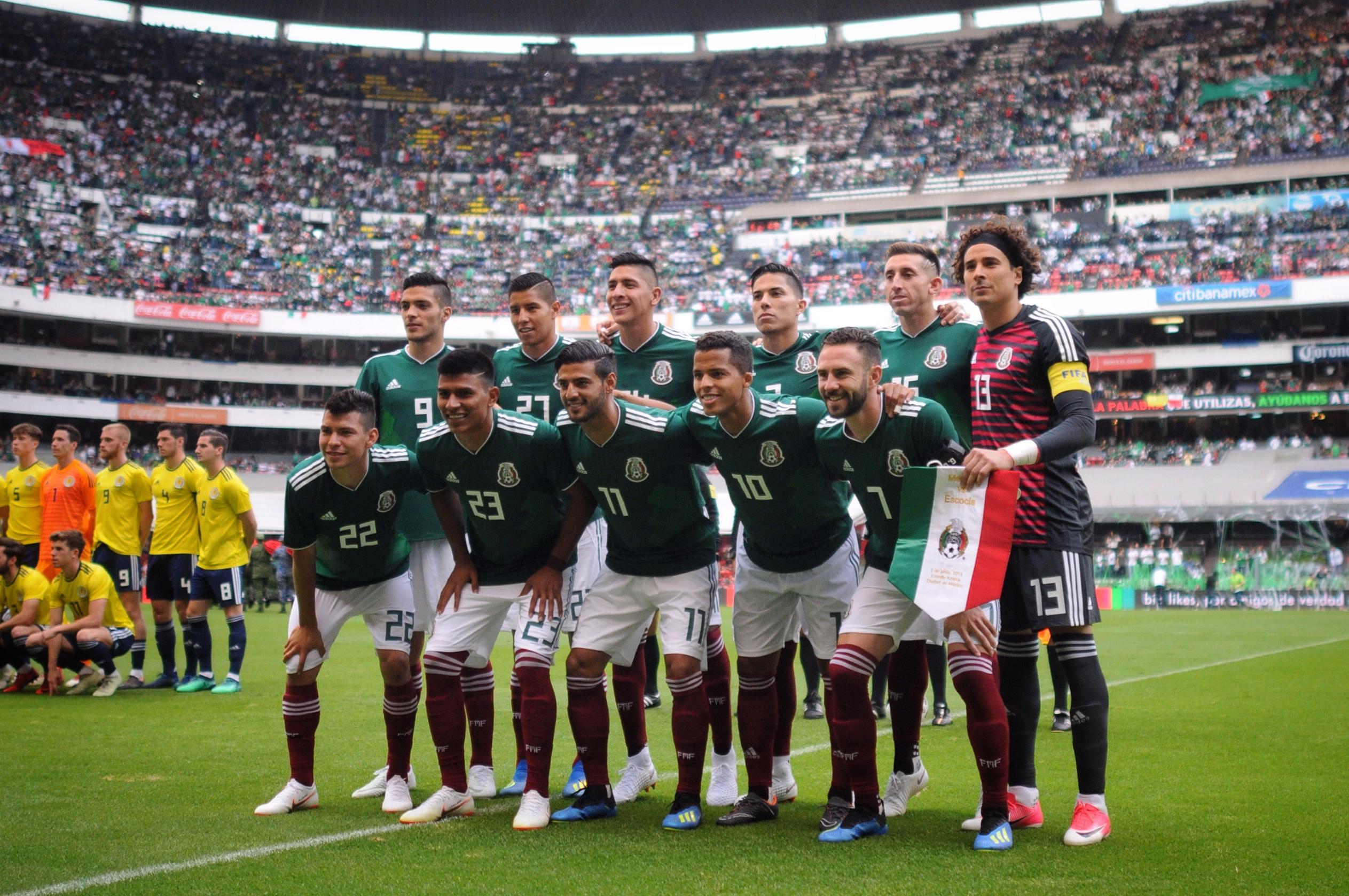 El Consejo de Promoción Turística de México le pagaba 34 millones 800 mil pesos anuales a la selección nacional (FOTO: DIEGO SIMÓN SÁNCHEZ /CUARTOSCURO.COM)