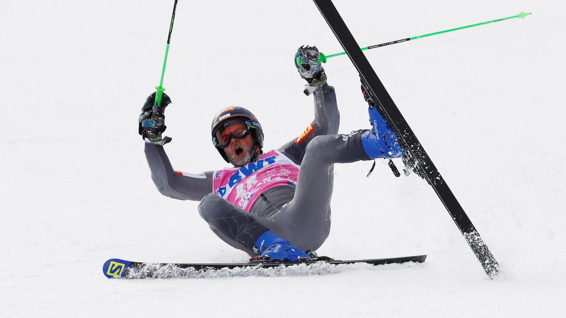 Luego volvió a detenerse hasta 1948, cuando la competición internacional volvió en San Moritz, Suiza(REUTERS)