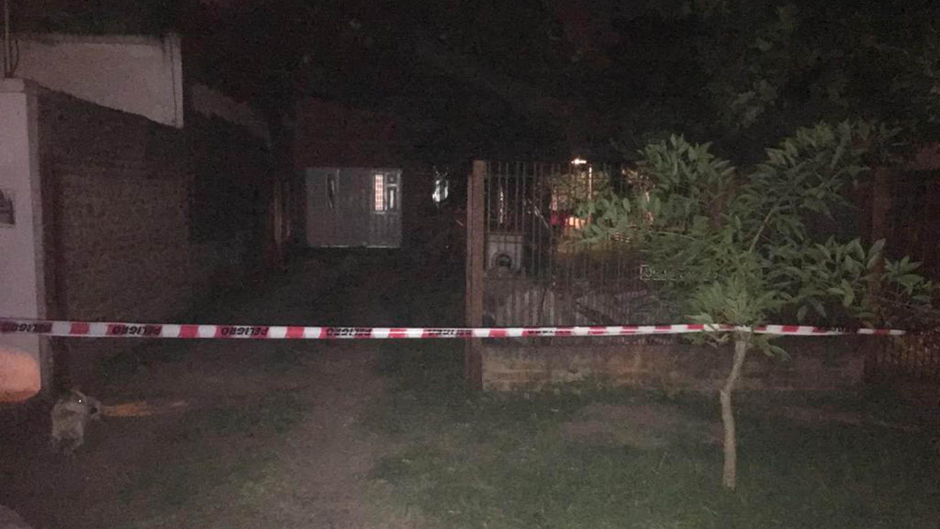 La casa en la que asesinaron a la pareja