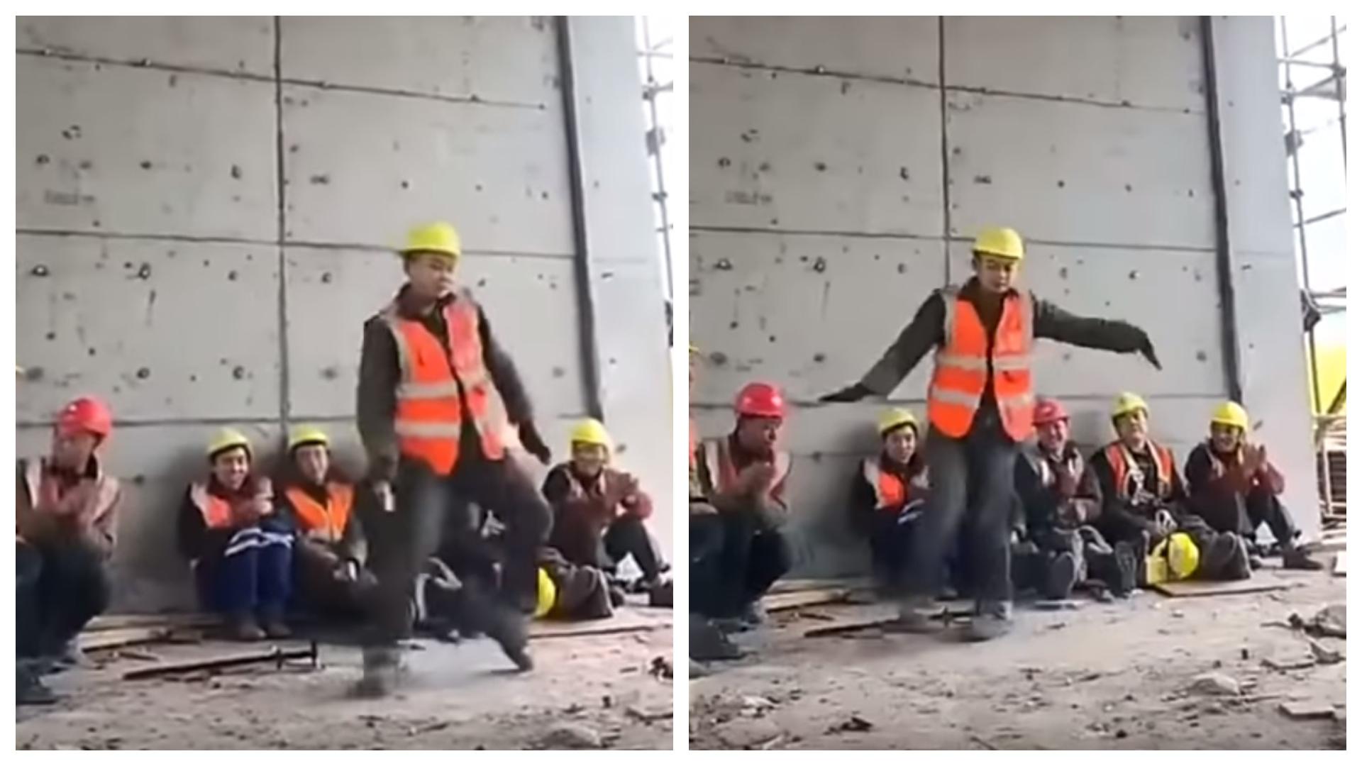 El hombre fue halagado por la facilidad con la que se desliza (Foto: Captura de Pantalla Youtube)