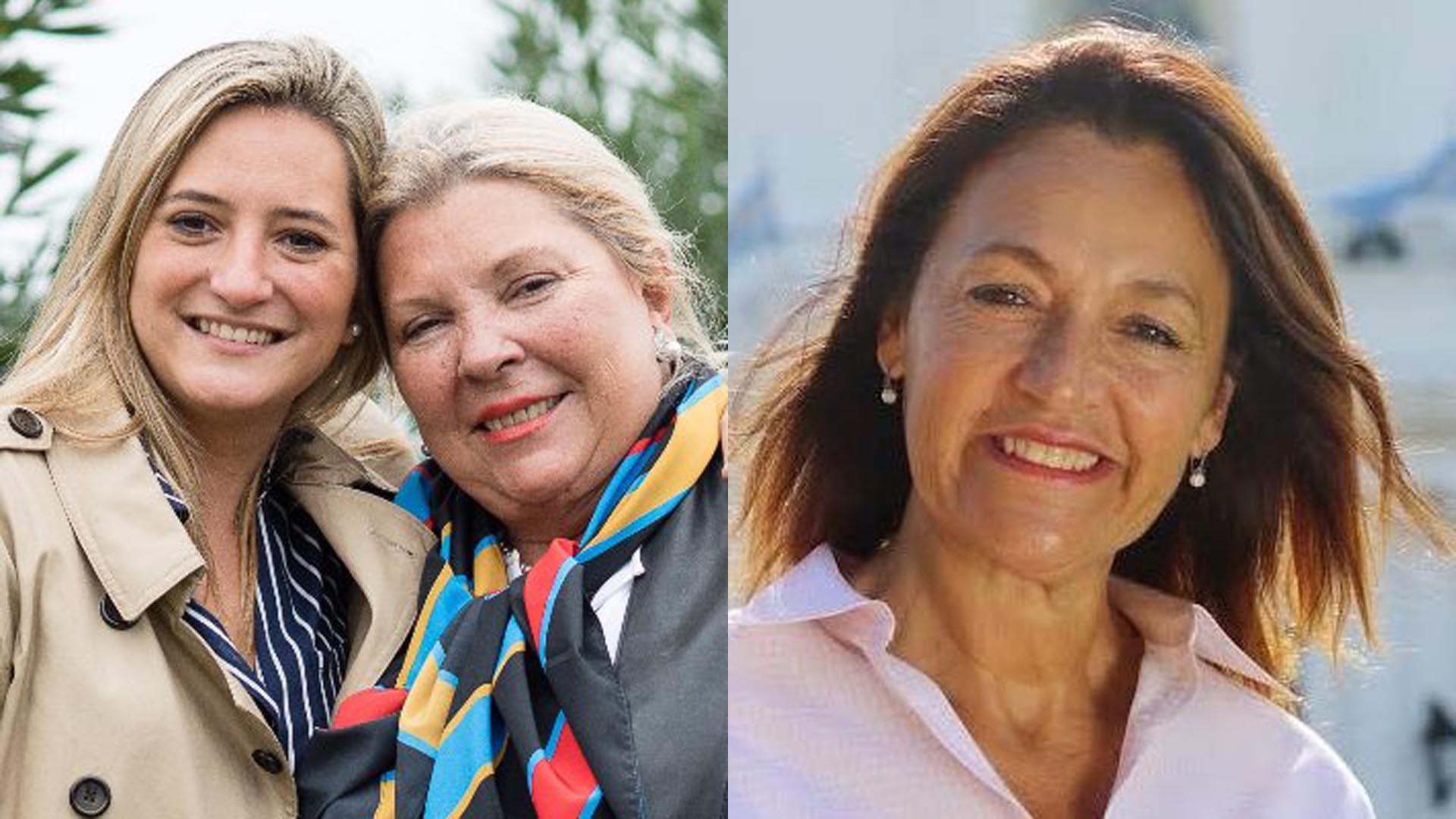 Lucila Lehmann y Marcela Campagnoli