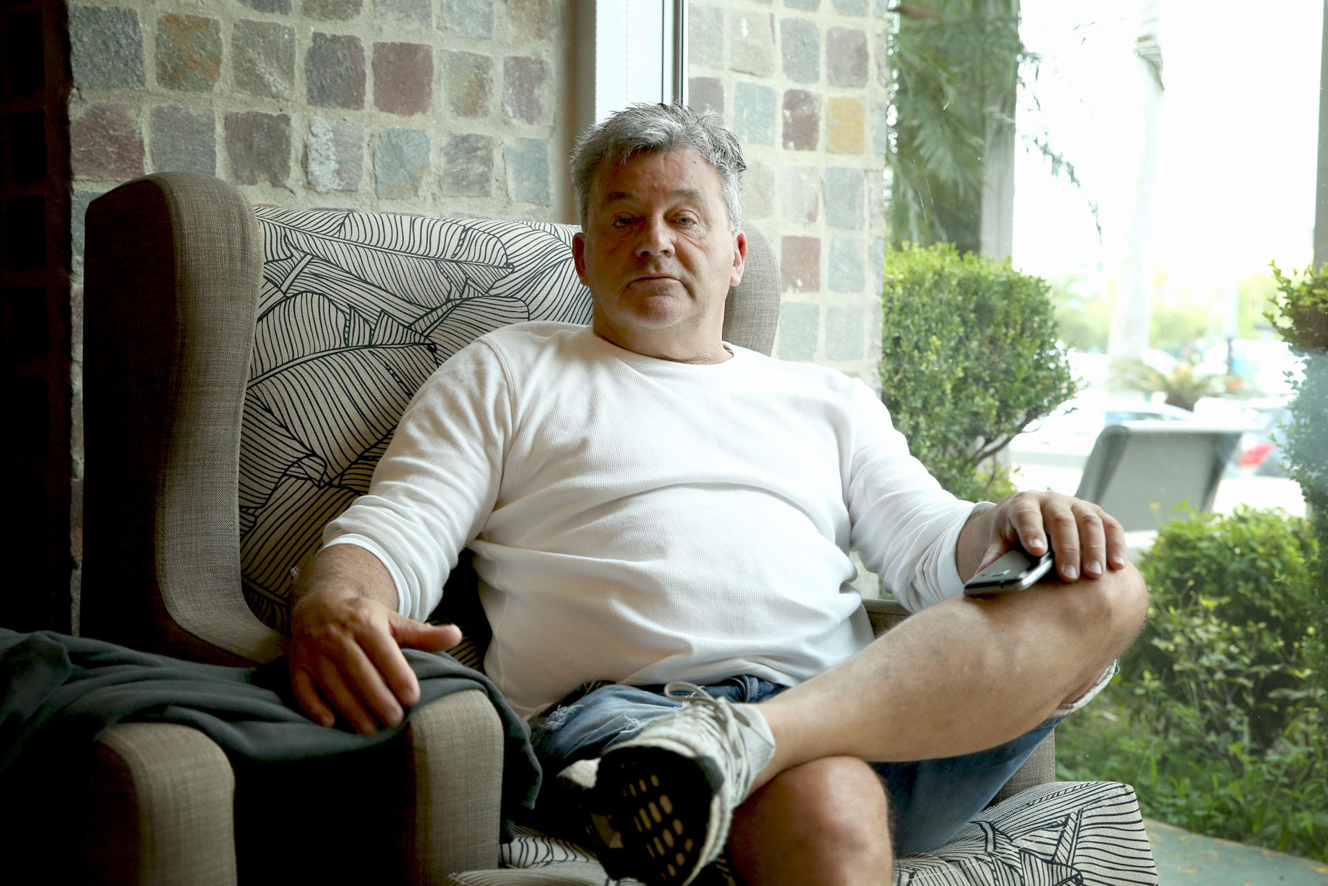 Humberto Grondona debutó como actor y es figura de una obra en Villa Carlos Paz (Fotos: Mario Sar)