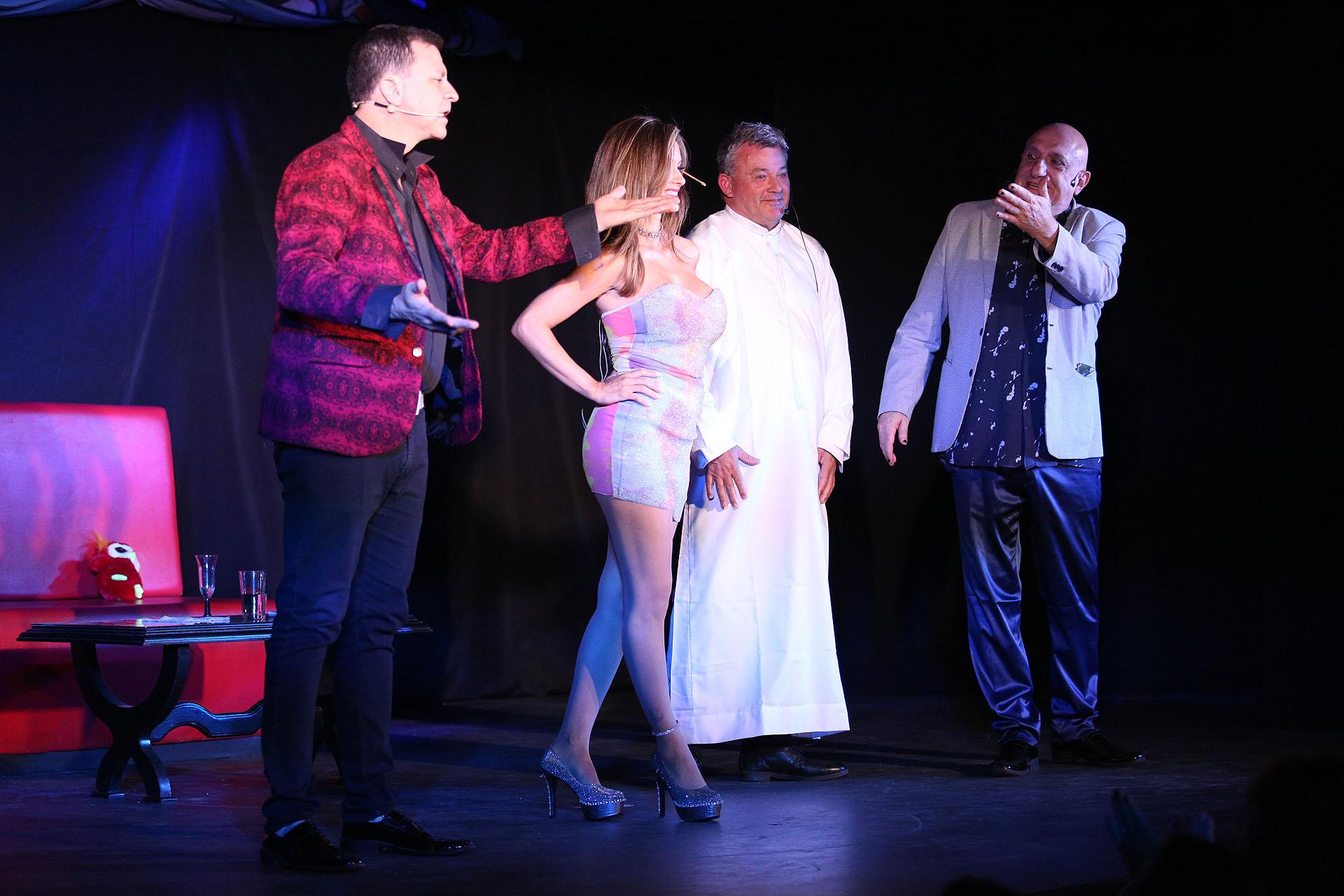 Mario Fassi, Eliana Mendoza, Humbertito Grondona y Juan Acosta (Fotos: Mario Sar)