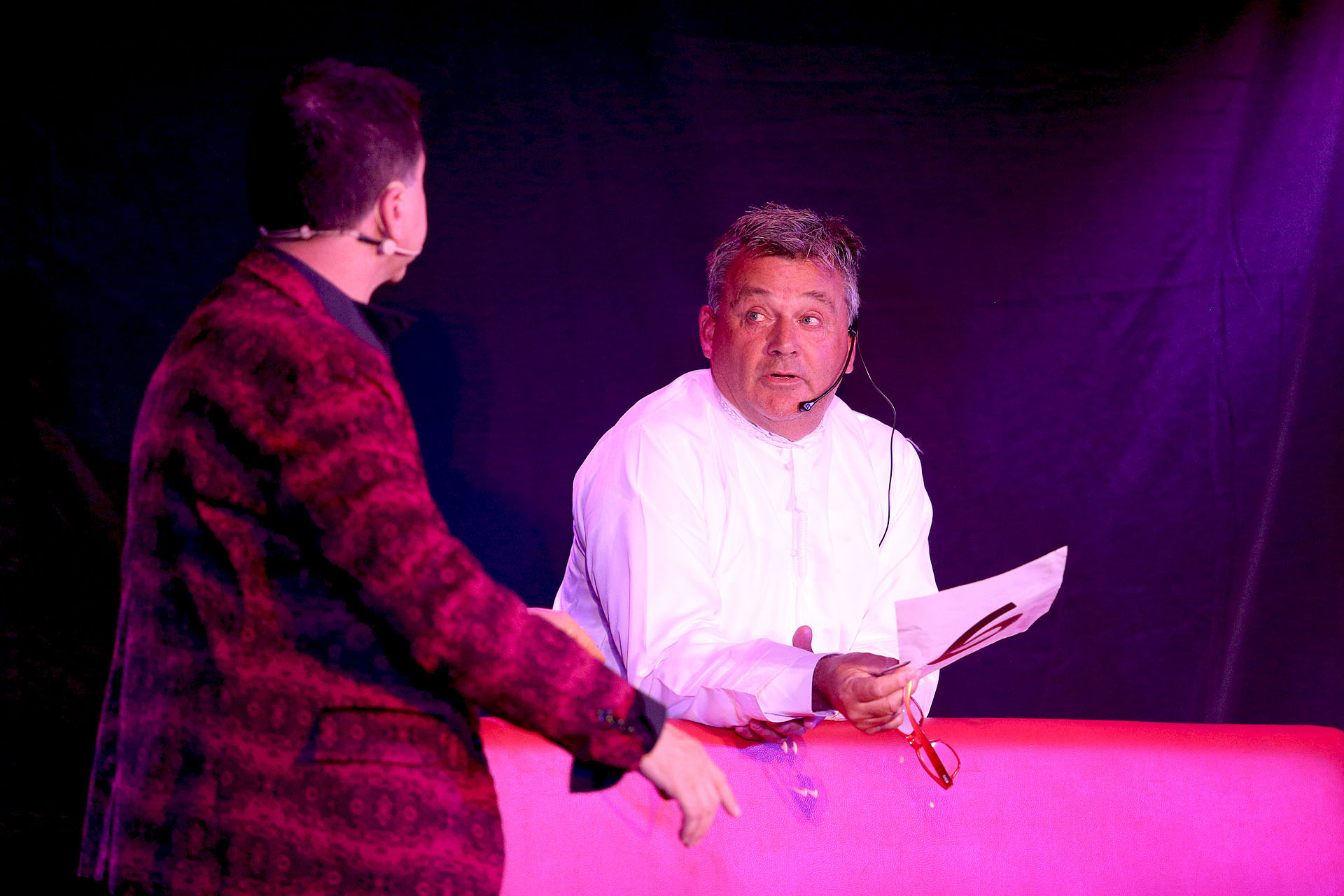 """""""Polihumor"""" se lleva a cabo en el Teatro del Sol de Villa Carlos Paz"""