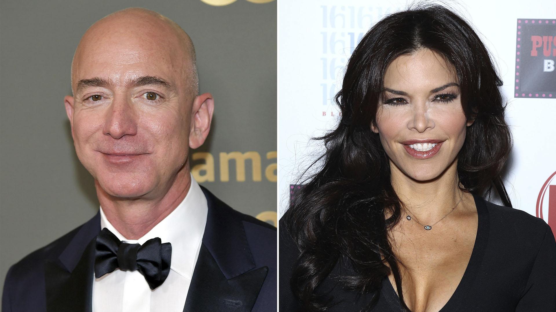 Jeff Bezos y Lauren Sanchez (Foto: Especial)