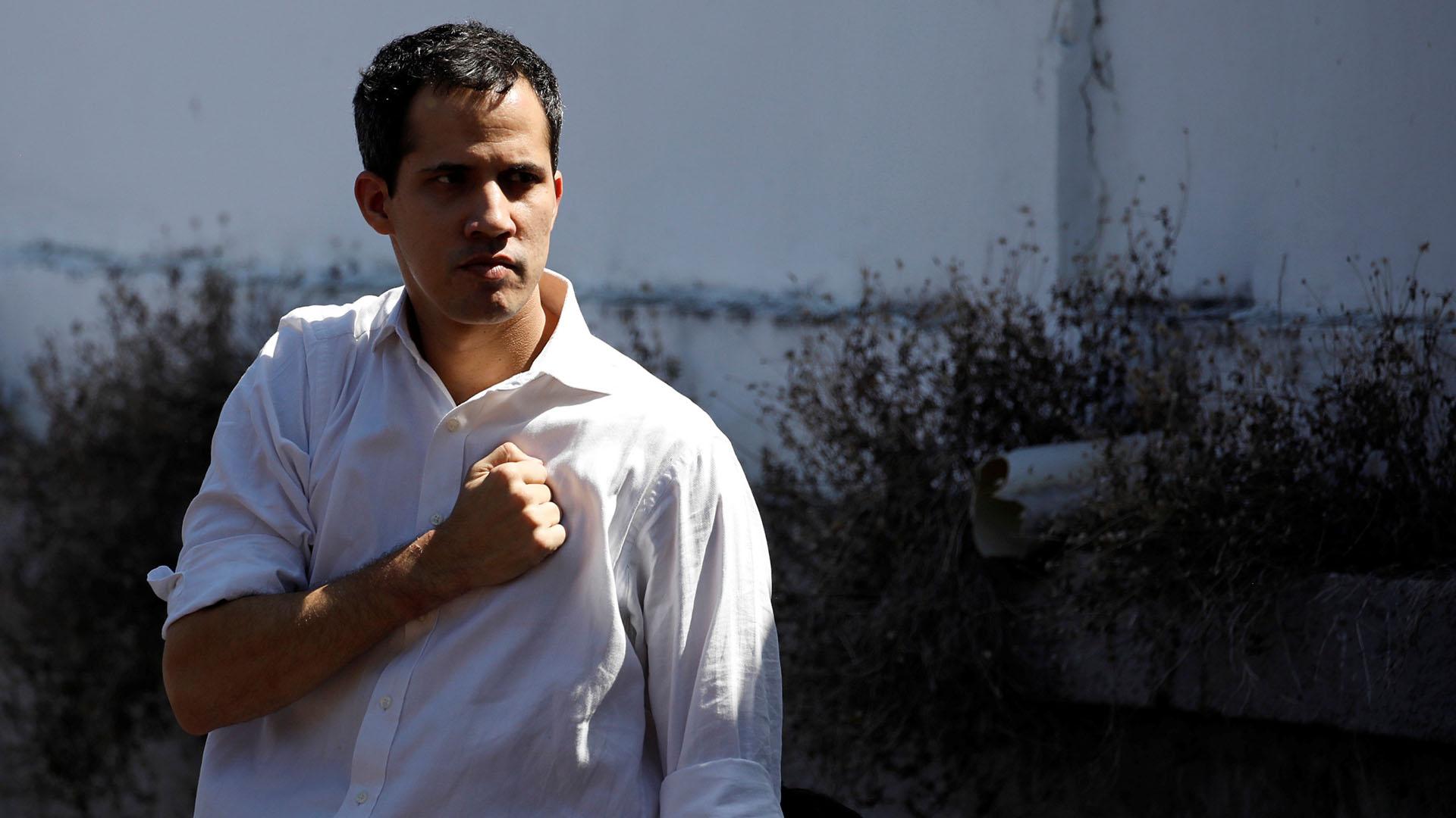 Juan Guaidó (Foto: REUTERS/Carlos Garcia Rawlins)