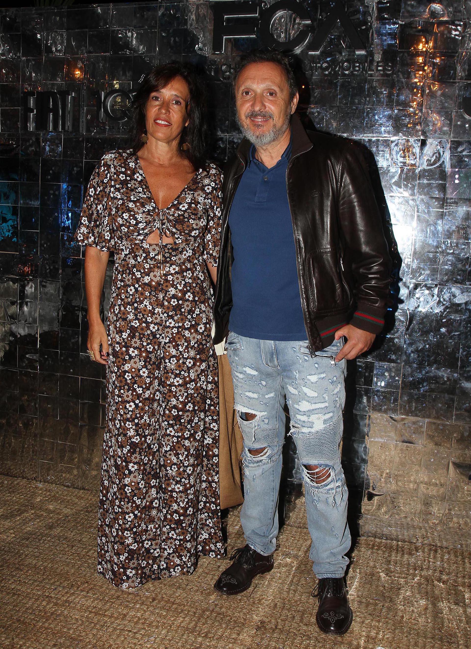 Daniel Maman y su mujer