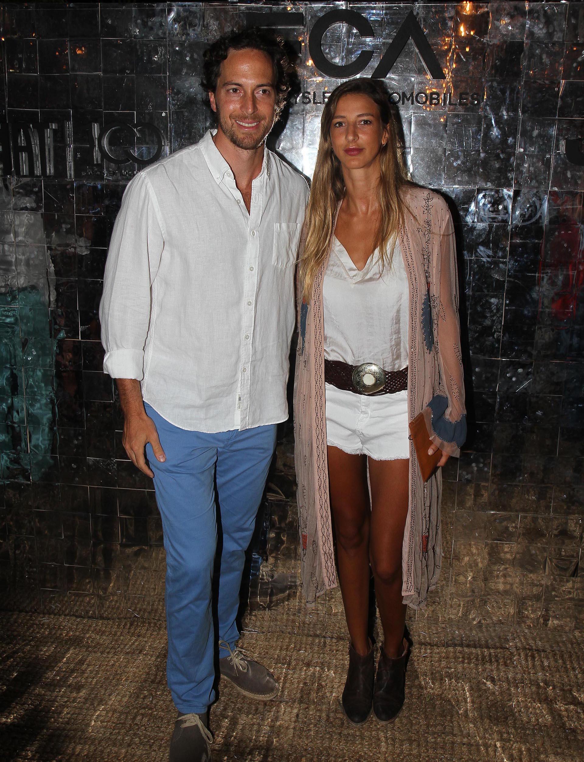 Roger Zaldivar y Enriqueta Márquez Álvarez de Toledo