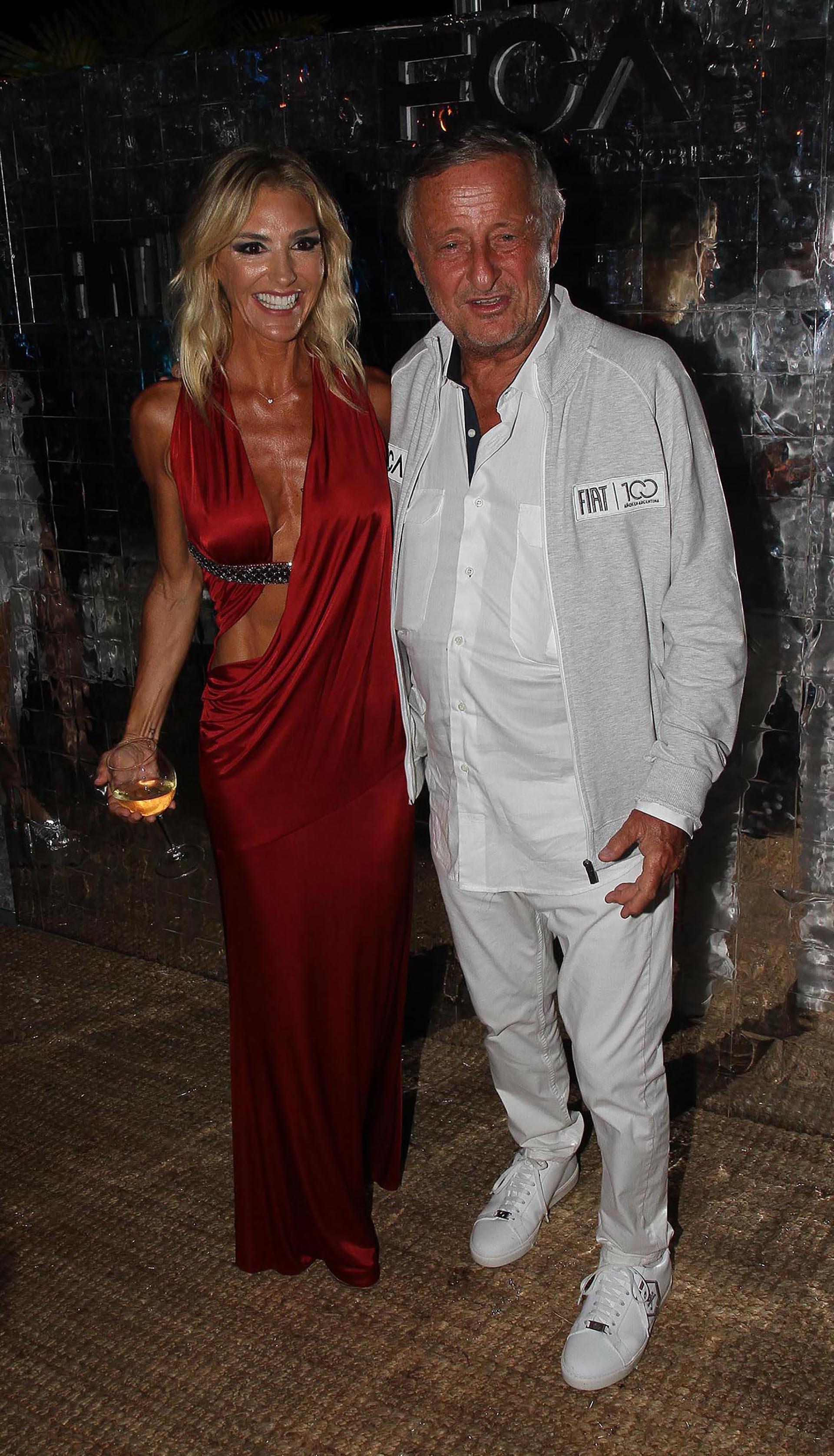 El presidente de Fiat, Cristiano Rattazzi, y su pareja Gabriela Castellani fueron los anfitriones de la gran fiesta esteña