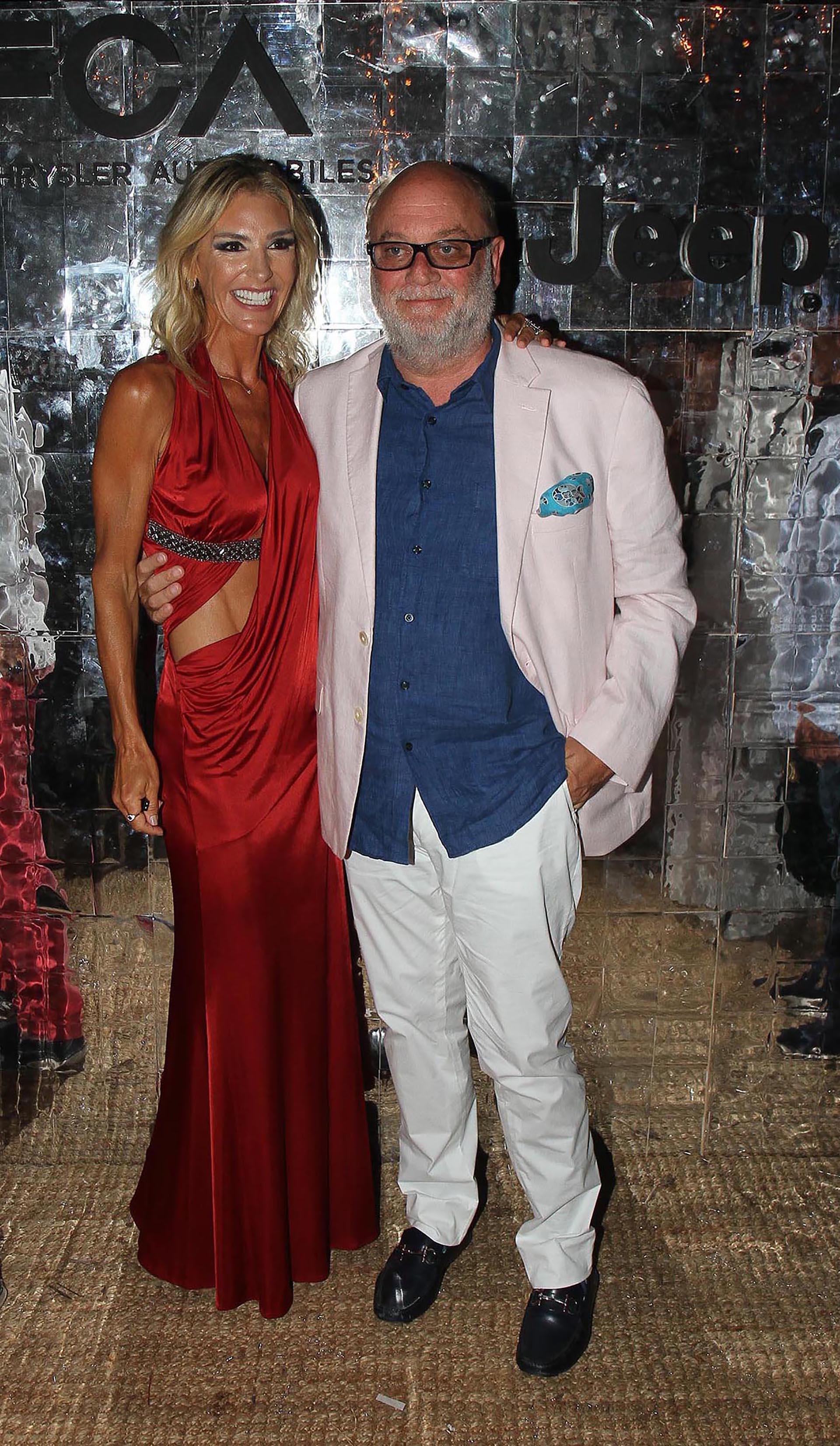 Gabriela Castellani y Martín Cabrales