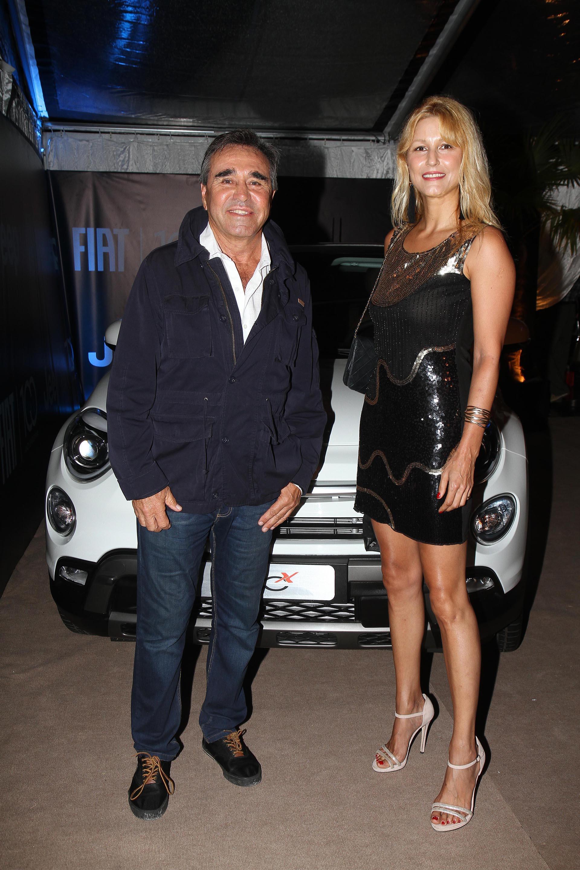 Cocho López y su pareja