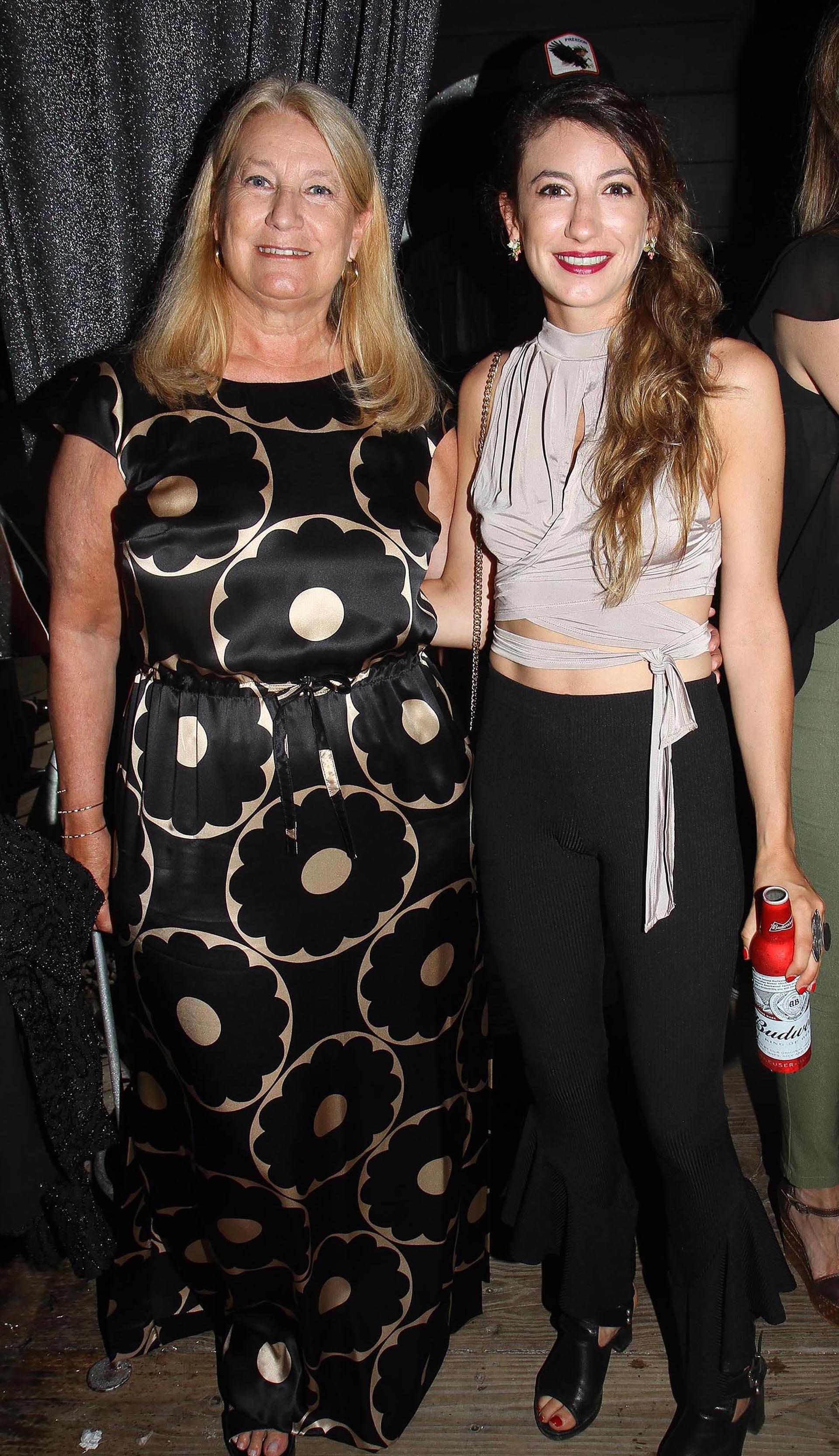 María Taquini de Blaquier y su hija Milagros Blaquier