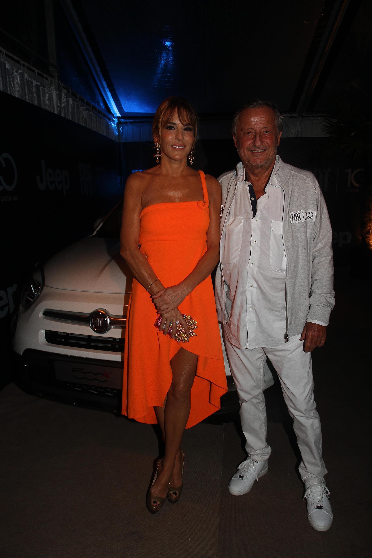 Patricia Della Giovampaola y Cristiano Rattazzi