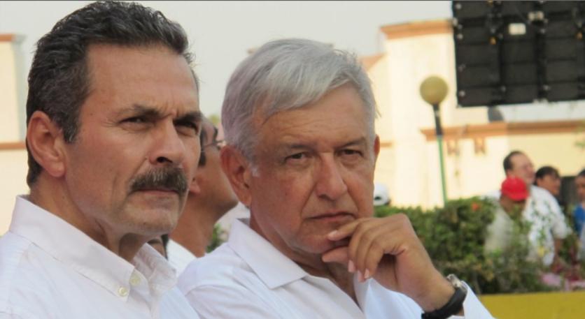 Octavio Romero Oropeza, director de Pemex, y el presidente Andrés Manuelo López Obrador (Foto: Especial)