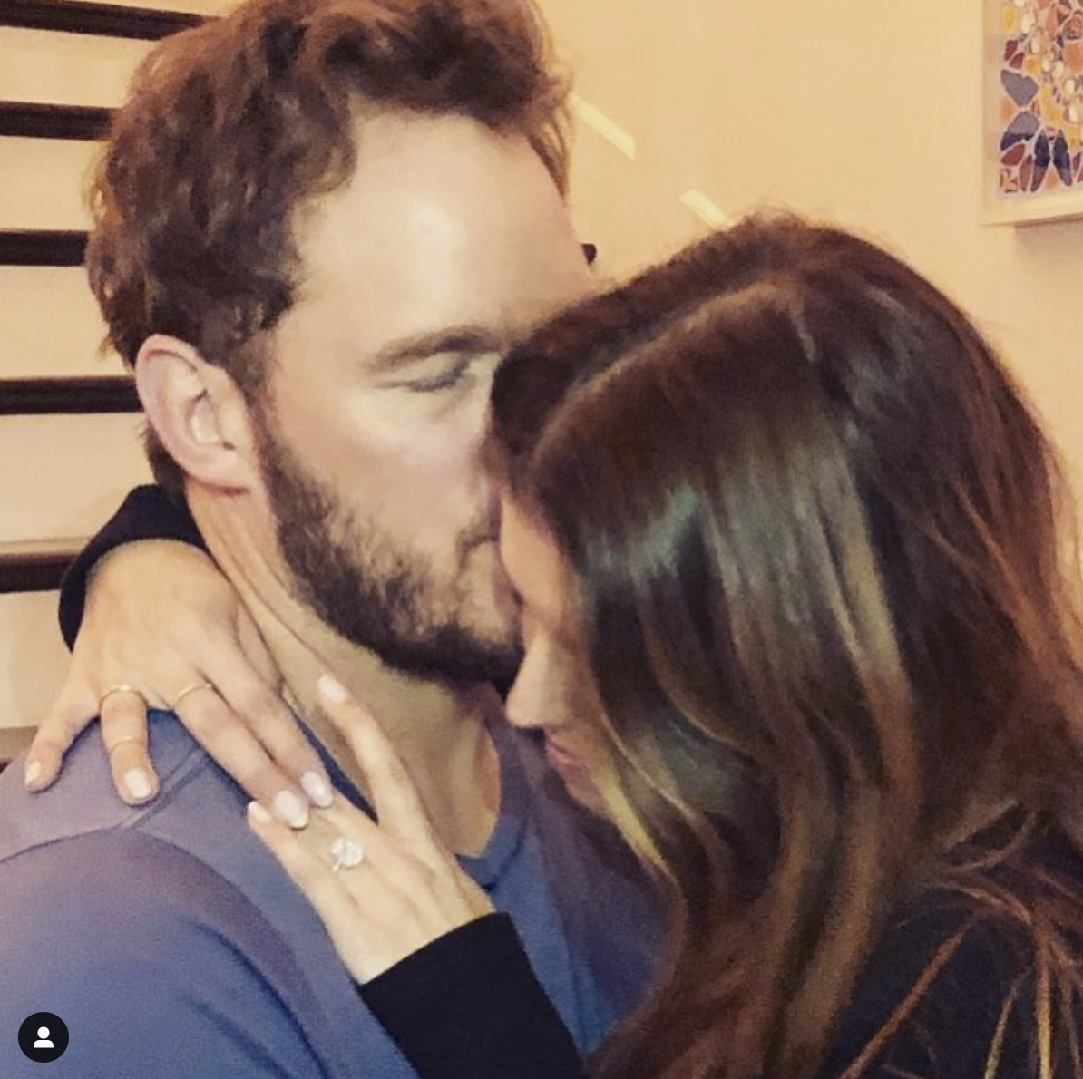 Chris Pratt anunció su compromiso con Katherine Schwarzenegger