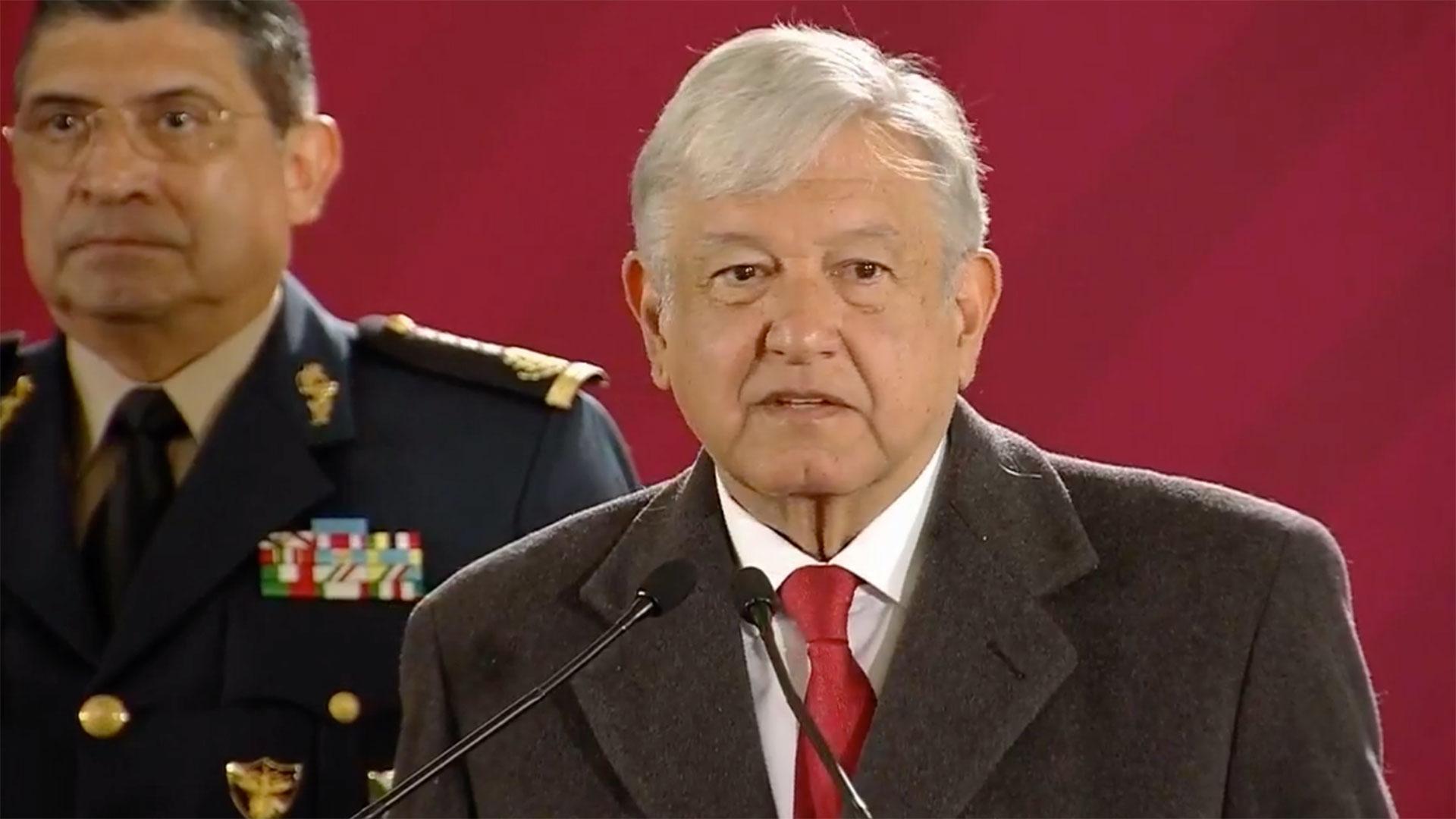 El presidente Andrés Manuel López Obrador dio un informe pormenorizado del plan conjunto contra el robo de combustible (Foto: Especial)