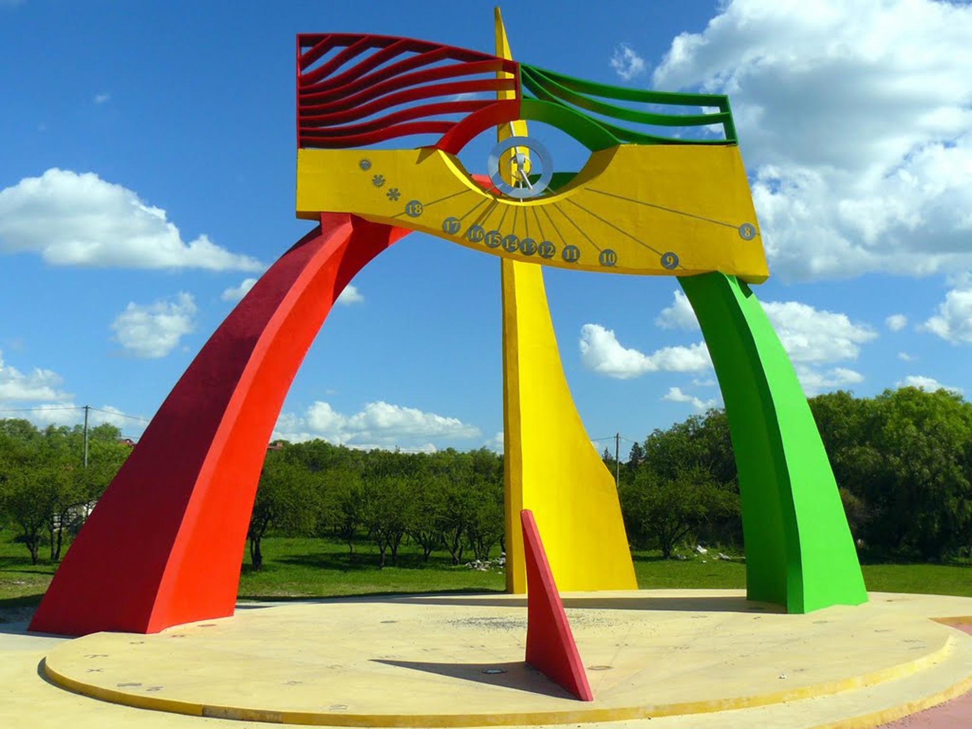 """""""El ojo del tiempo"""", obra que Pérez Celis montó en San Luis en 2007"""