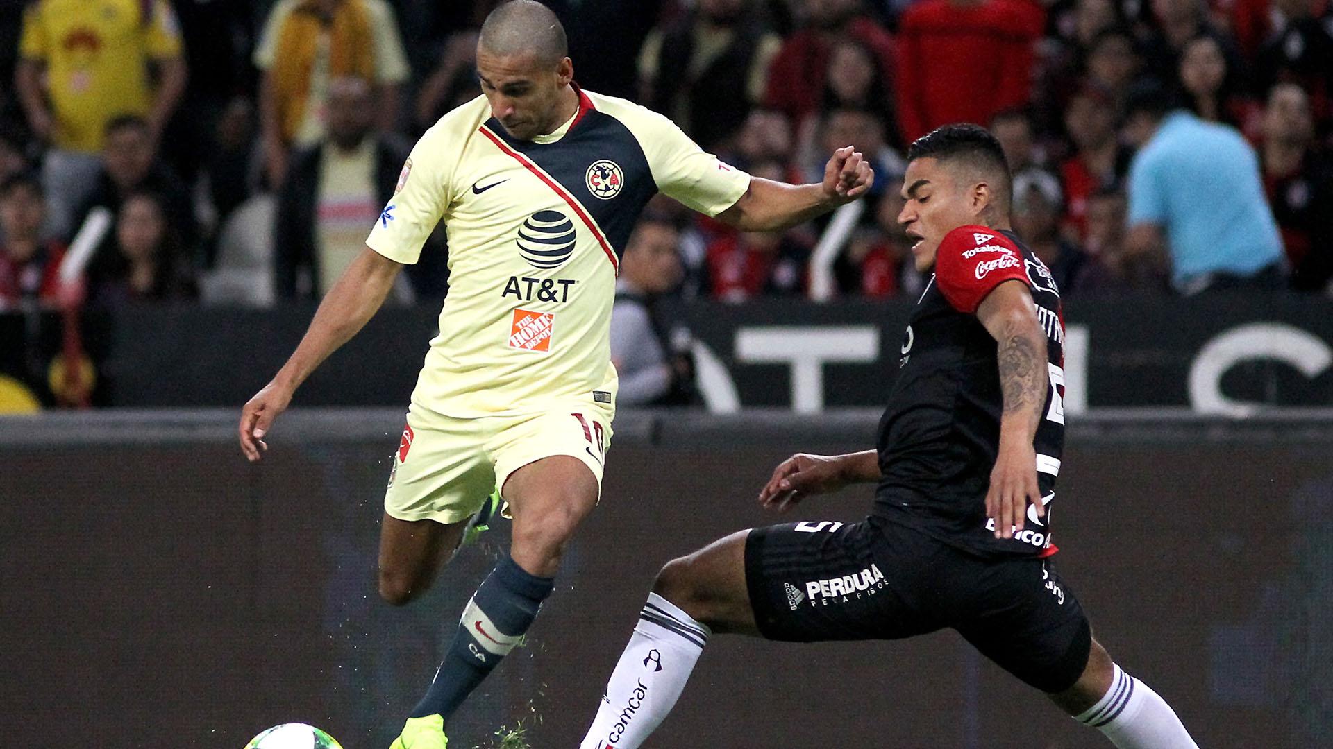 Cecilio Dominguez, por el torneo Clausura 2018 de México (AFP)