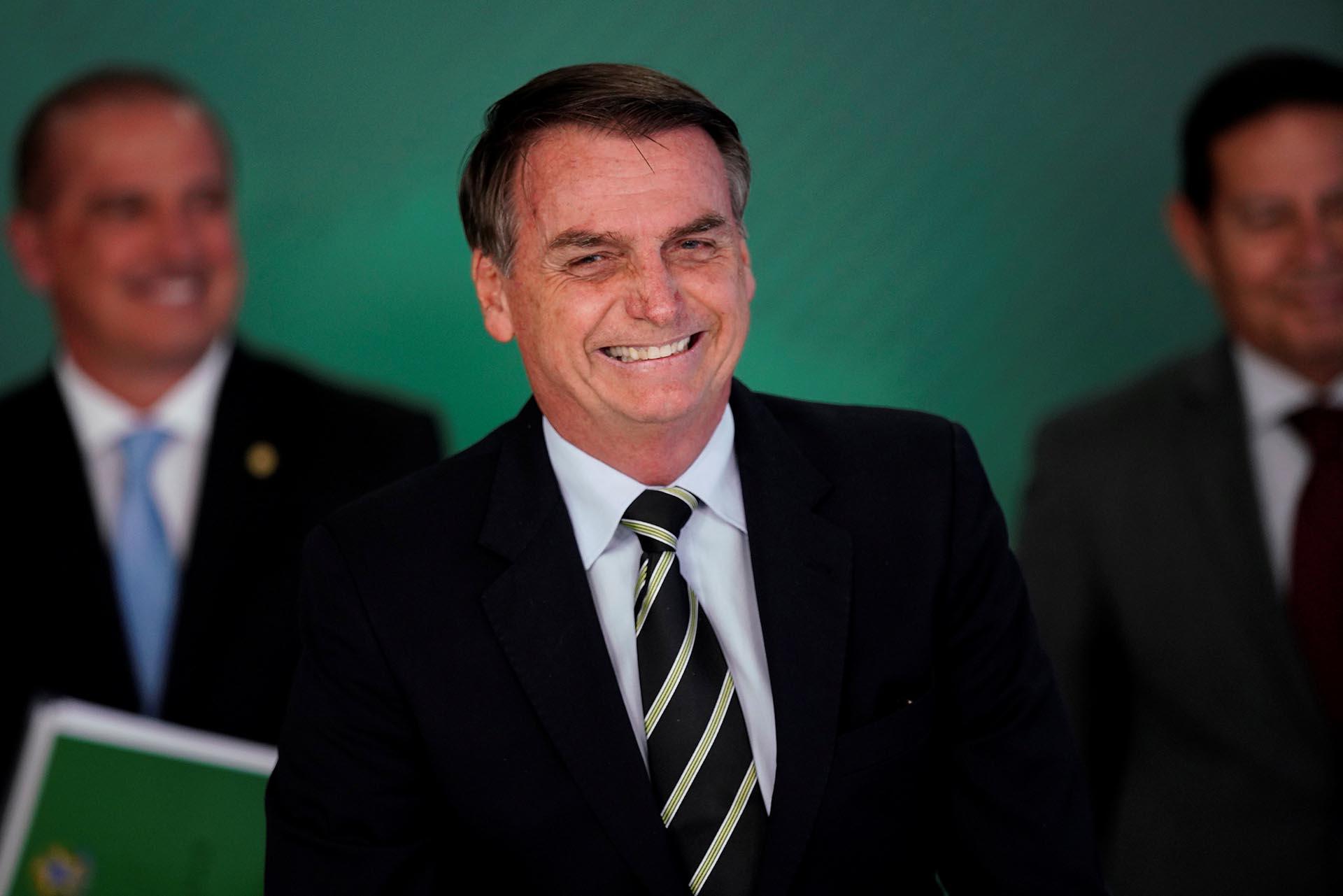 Jair Bolsonaro aún no tiene el alta médica (Reuters)