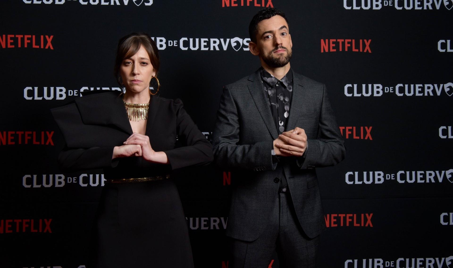 """""""Club de Cuervos"""" celebró el lanzamiento de su cuarta y última temporada (Foto: Cortesía Netflix)"""