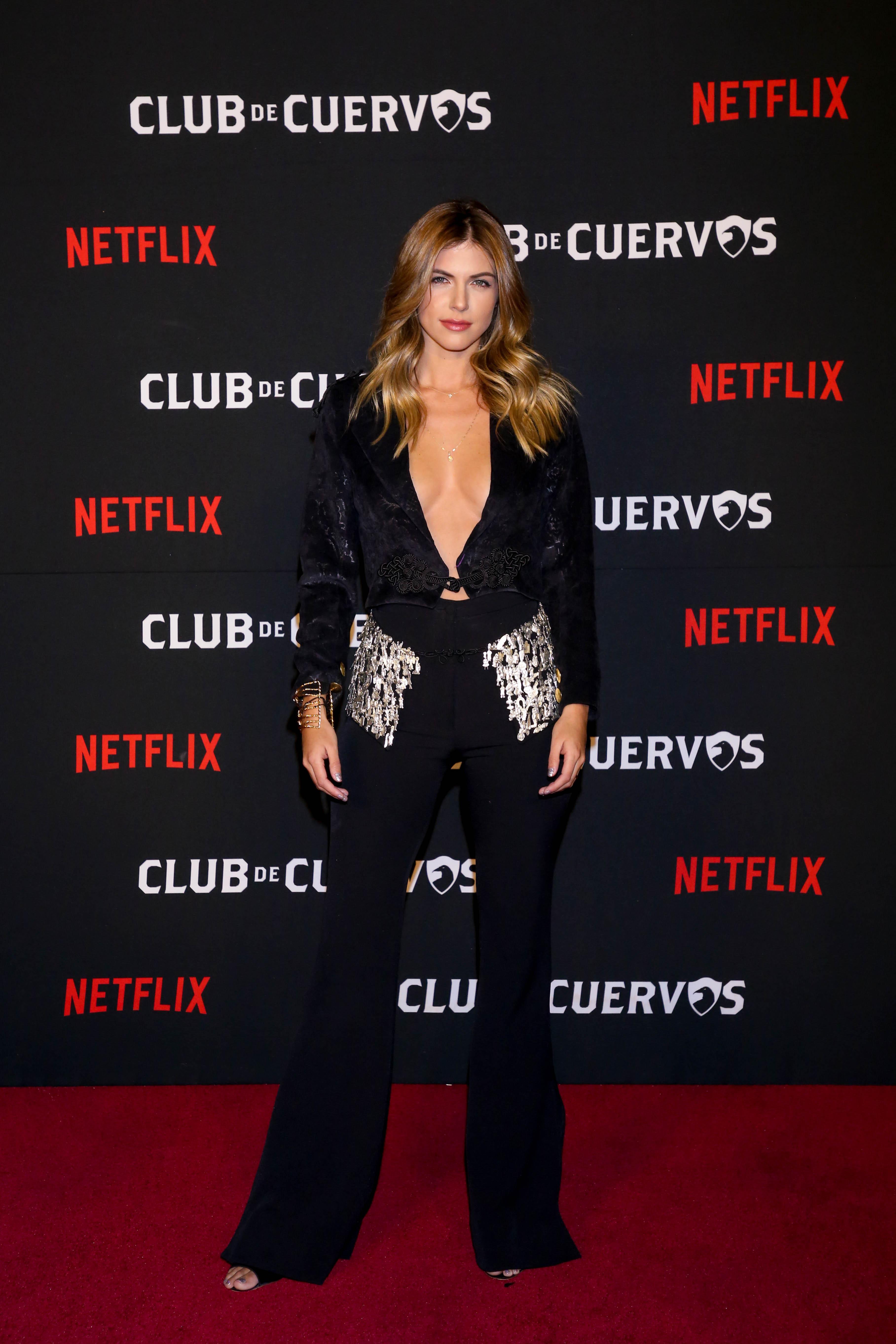 """La guapa actriz Stephanie Cayo personificó a """"Mary Luz"""" ( Foto: Cortesía Netflix)"""