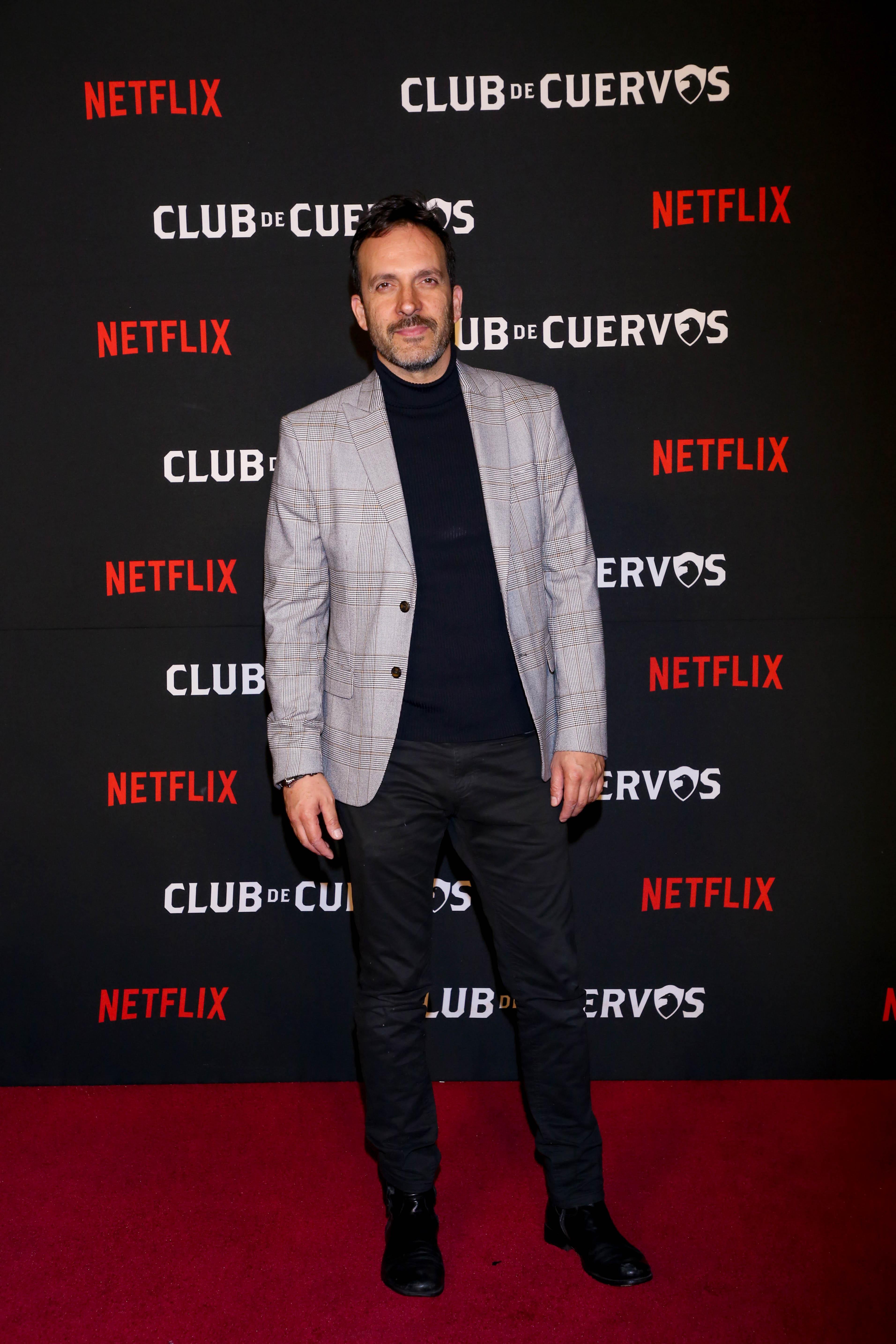 """Antonio de la Vega actuó en el personaje de """"Rafael Reina"""" ( Foto: Cortesía Netflix)"""