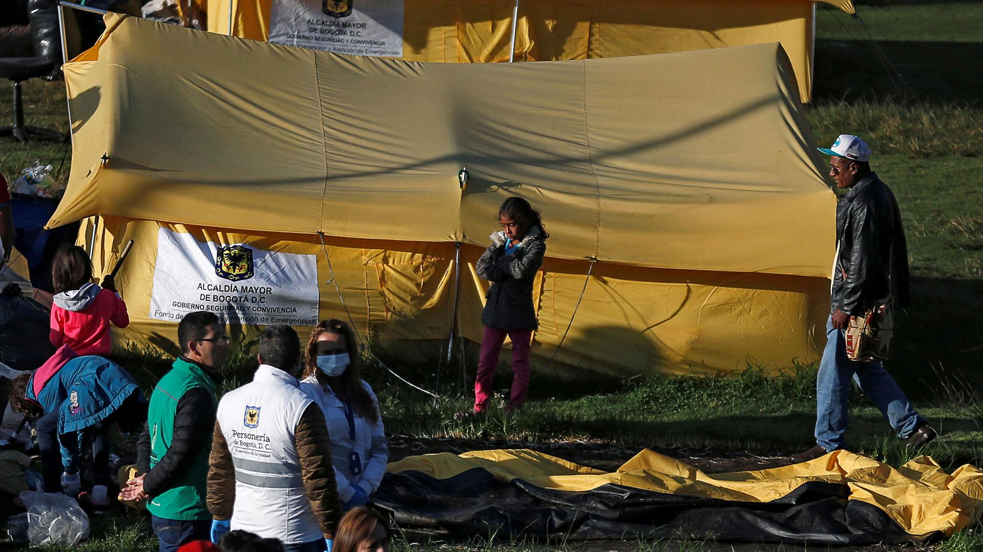 En el operativo de desalojo participaron un total de 230 funcionarios municipales (REUTERS/Luisa Gonzalez)