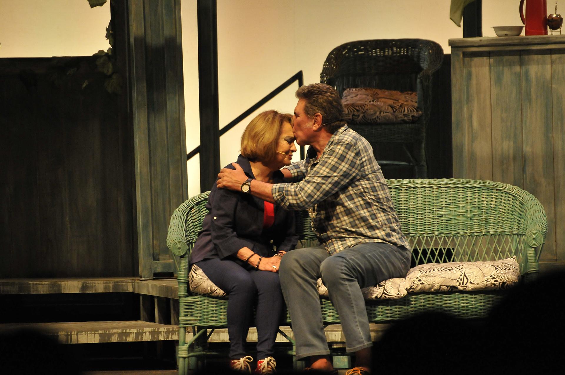 El musical se presenta en el teatro Lola Membrives