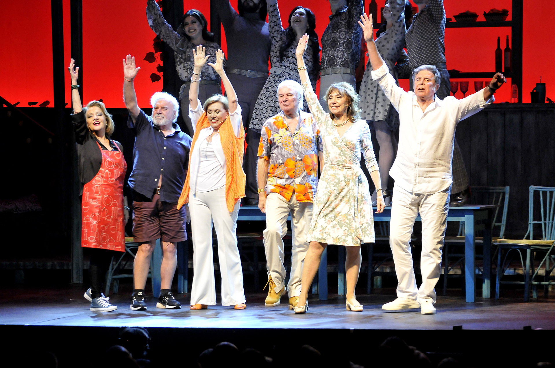 El espectáculo cuenta con una orquesta en vivo