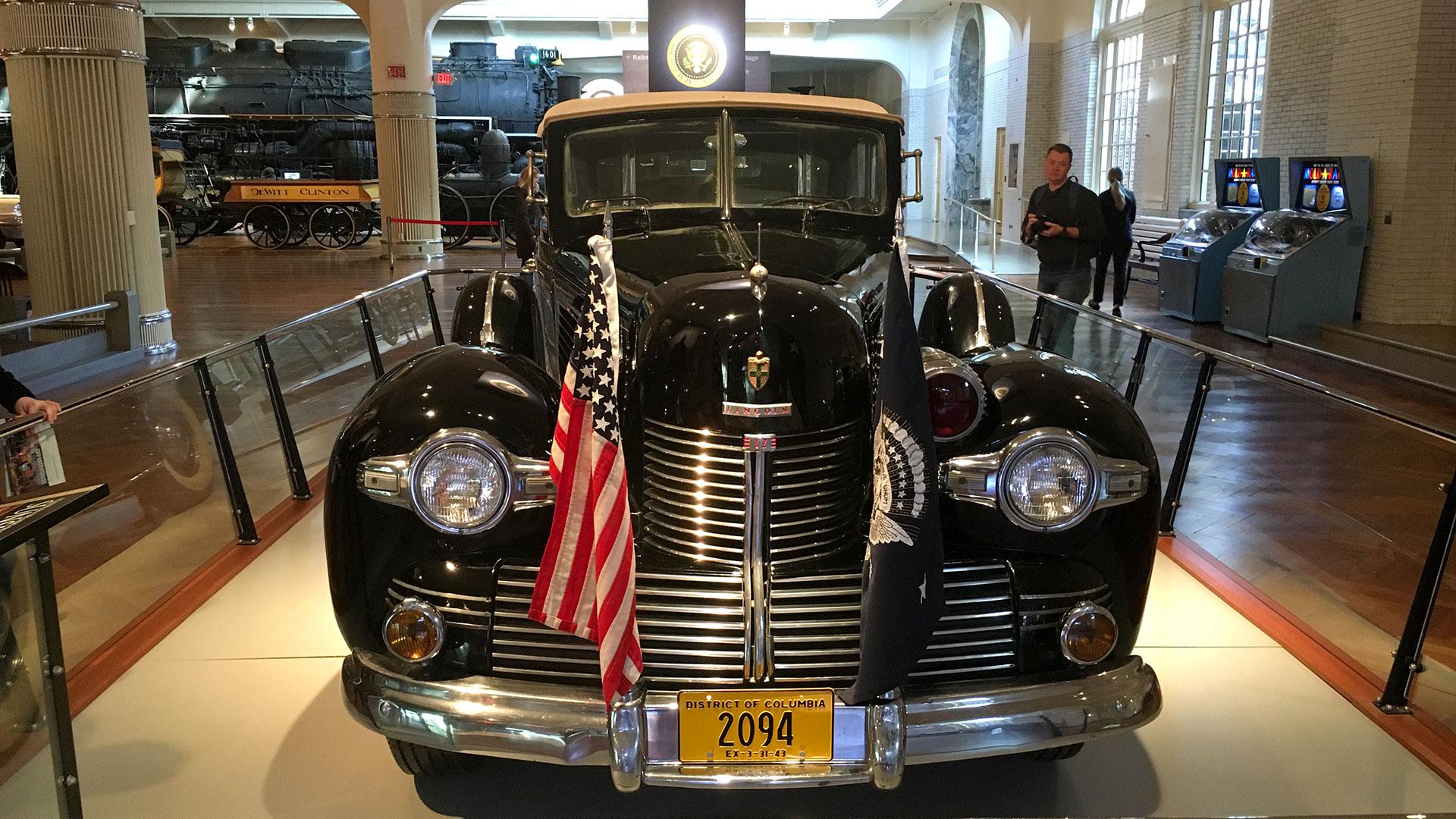 Sunshine Special, el Lincoln elegido por Franklin D. Roosevelt en 1939 (Infobae)