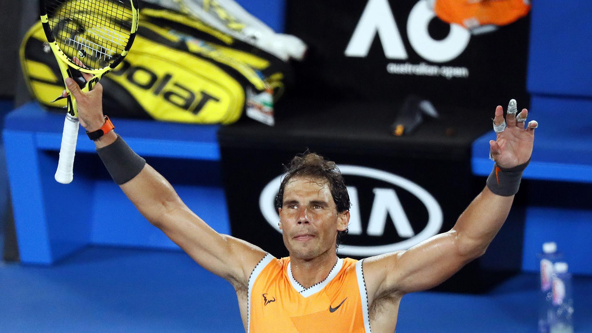 En la siguiente etapa, en busca del billete para octavos de final, Nadal se enfrentará a otro tenista australiano, Alex de Miñaur (29º), reciente campeón en el torneo de Sídney