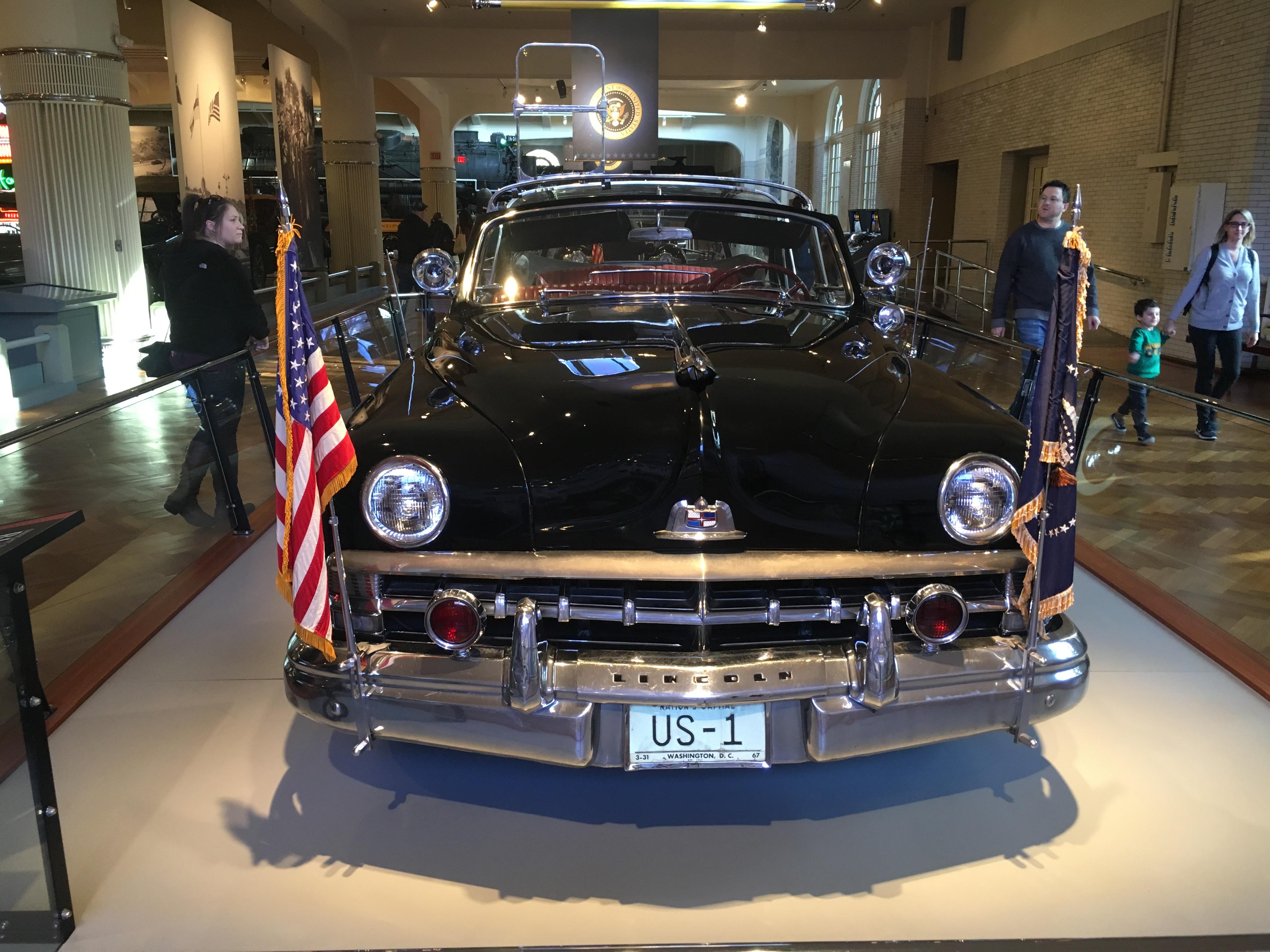 Bubbletop, el automóvil de Dwight Eisenhower (Infobae)