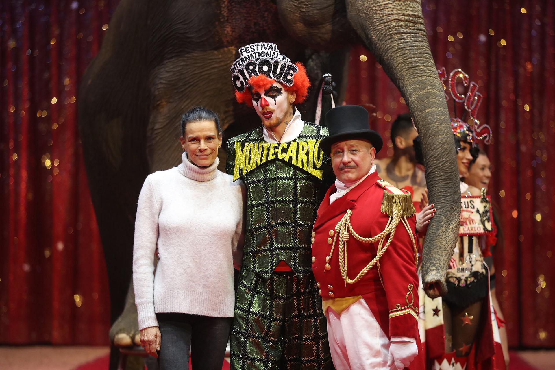 La princesa siempre estuvo relacionada con el mundo del circo, incluso por sus relaciones amorosas
