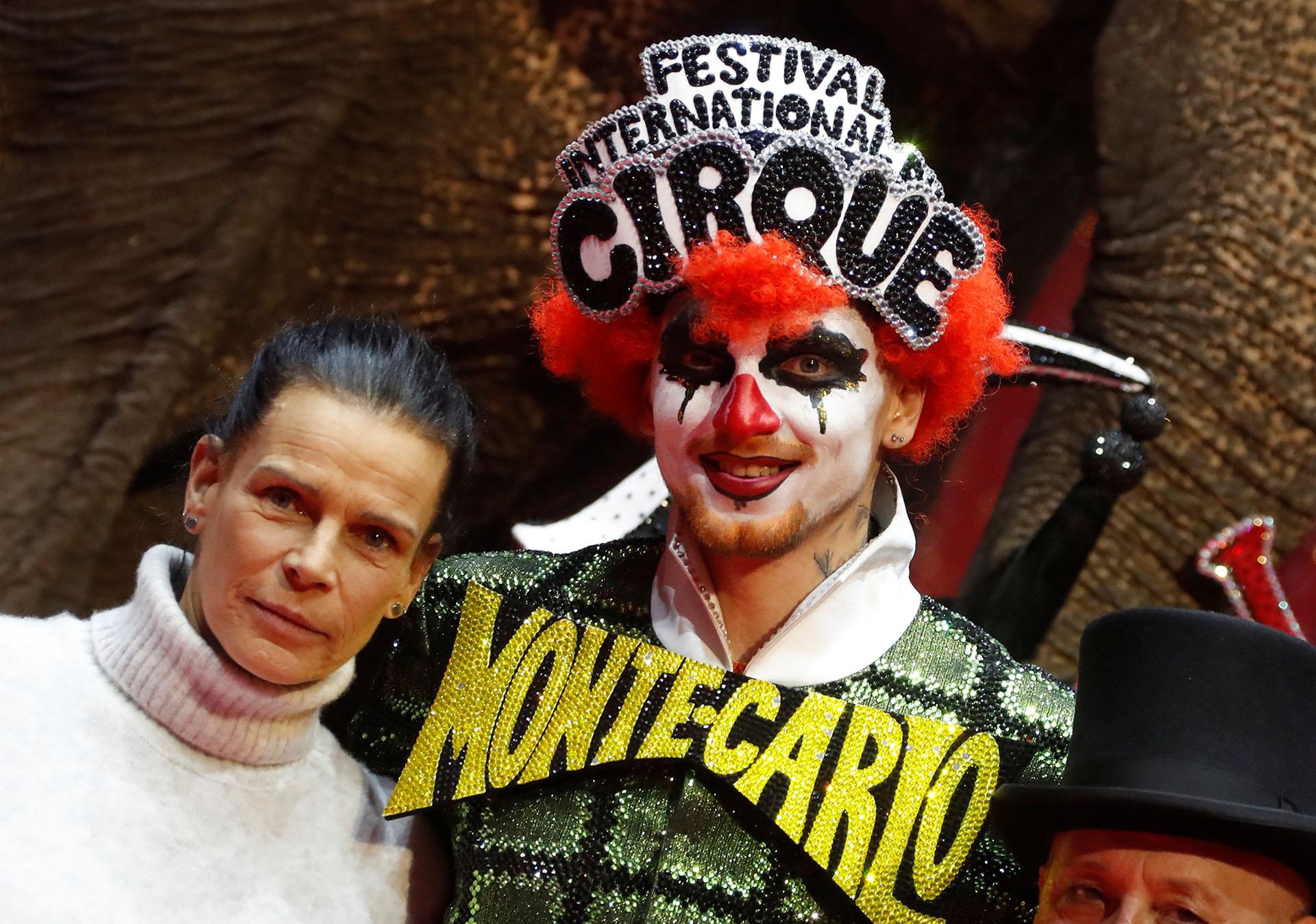 Desde hace varios años, Estefanía preside el Festival Internacional de Circo de Monte Carlo