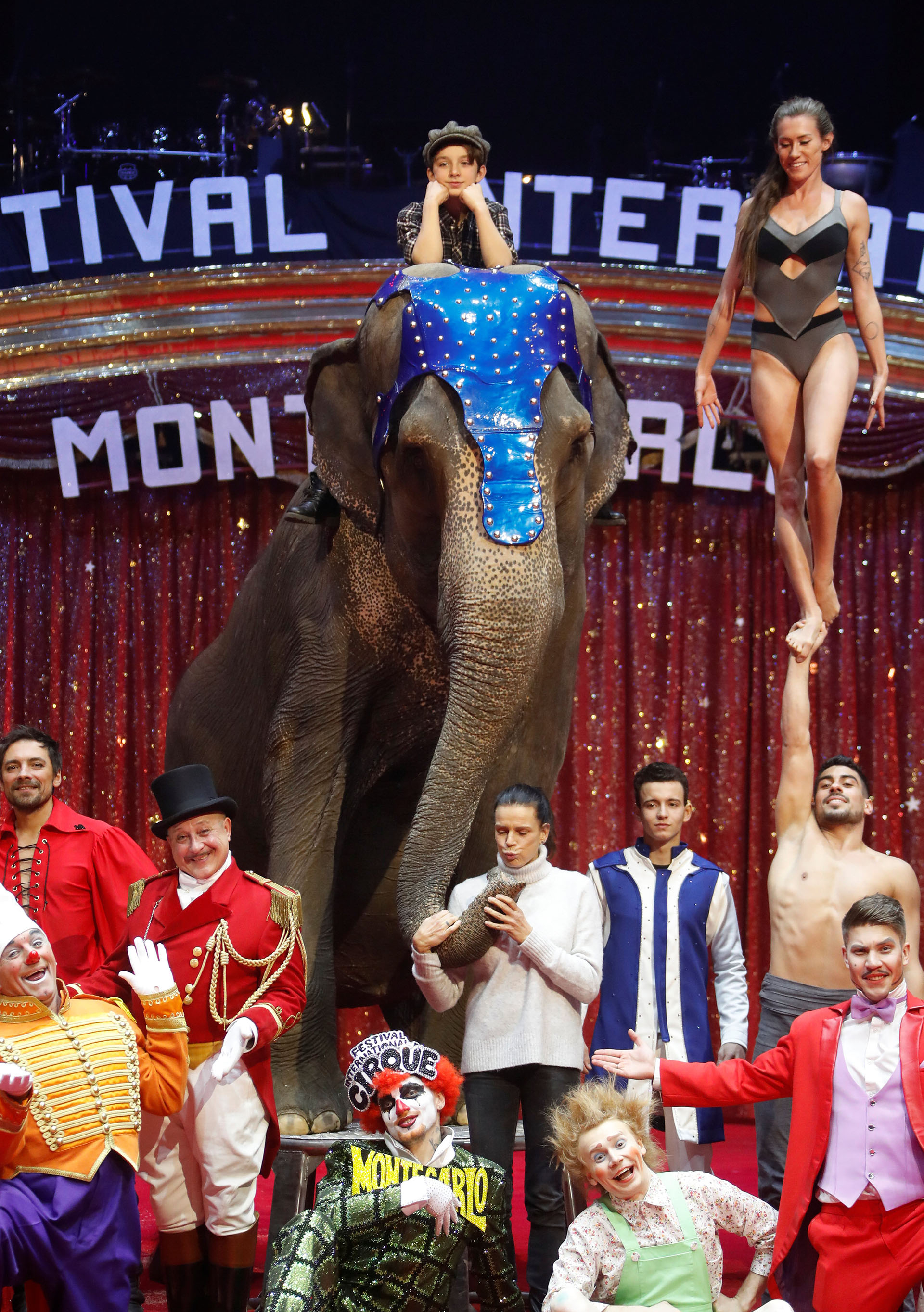 Antes de su boda, la hermana menor de Alberto de Mónaco había tenido un romance con un domador de elefantes, a quien acompañó en una gira de circo por Europa