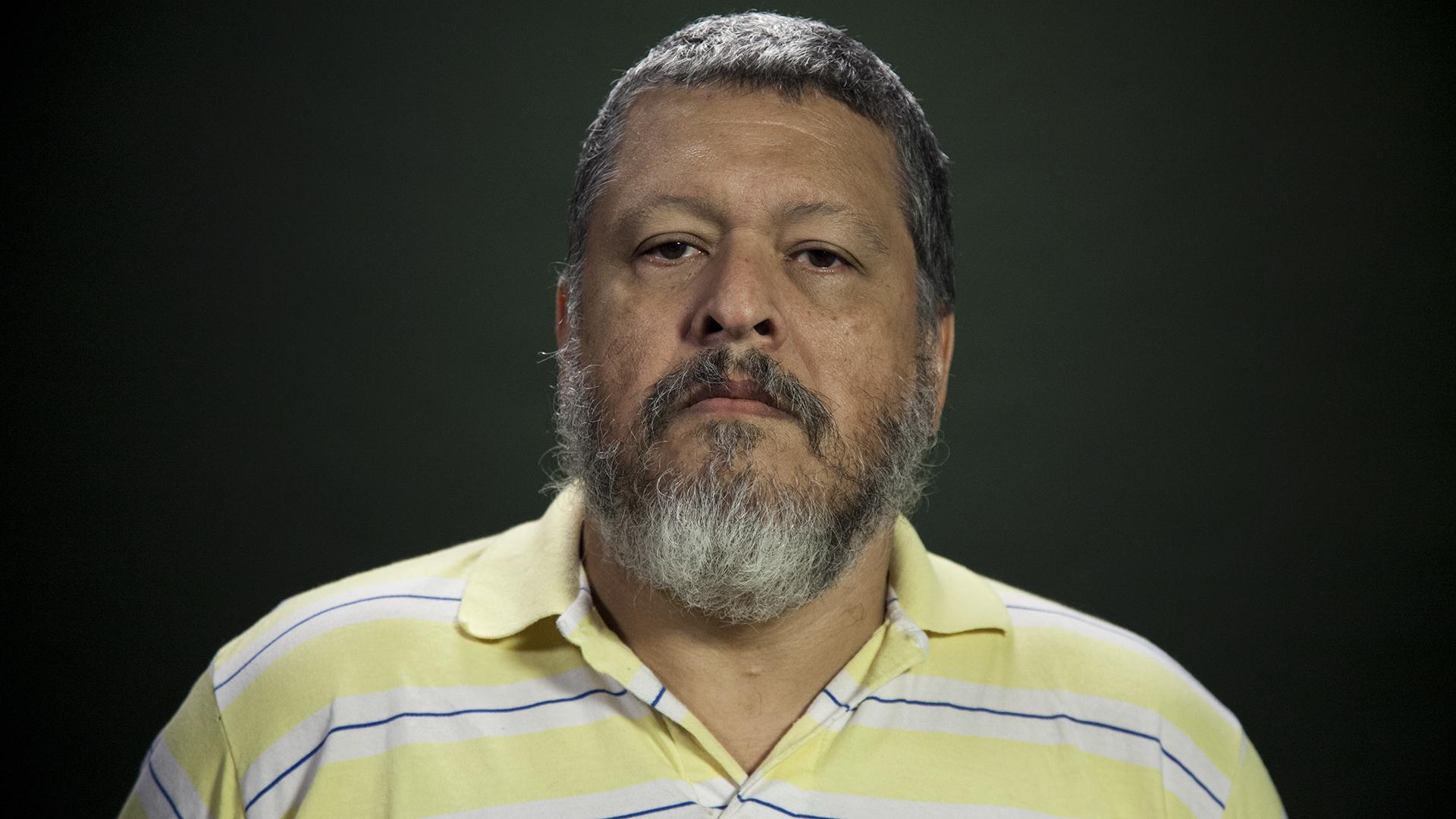 Sergio Pazy sus compañeros llevaron adelante dos largas huelgas de hambre en la cárcel (Santiago Saferstein)