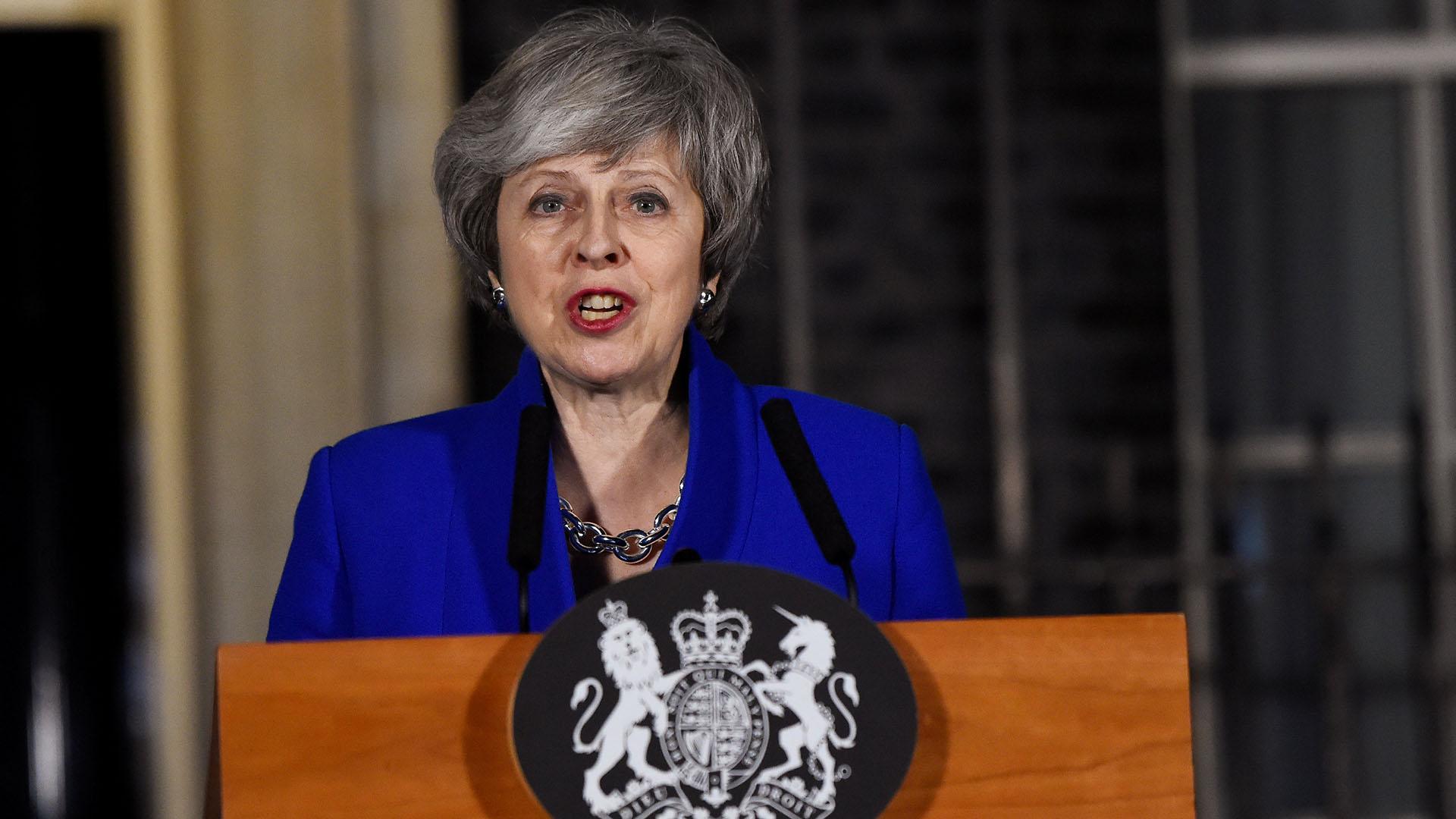 May pidió un nuevo impulso en las conversaciones con la UE (REUTERS/Clodagh Kilcoyne)