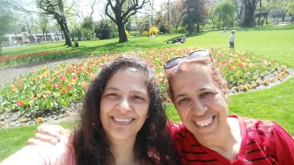 Una campaña internacional en las redes sociales impulsó la búsqueda de las hermanas