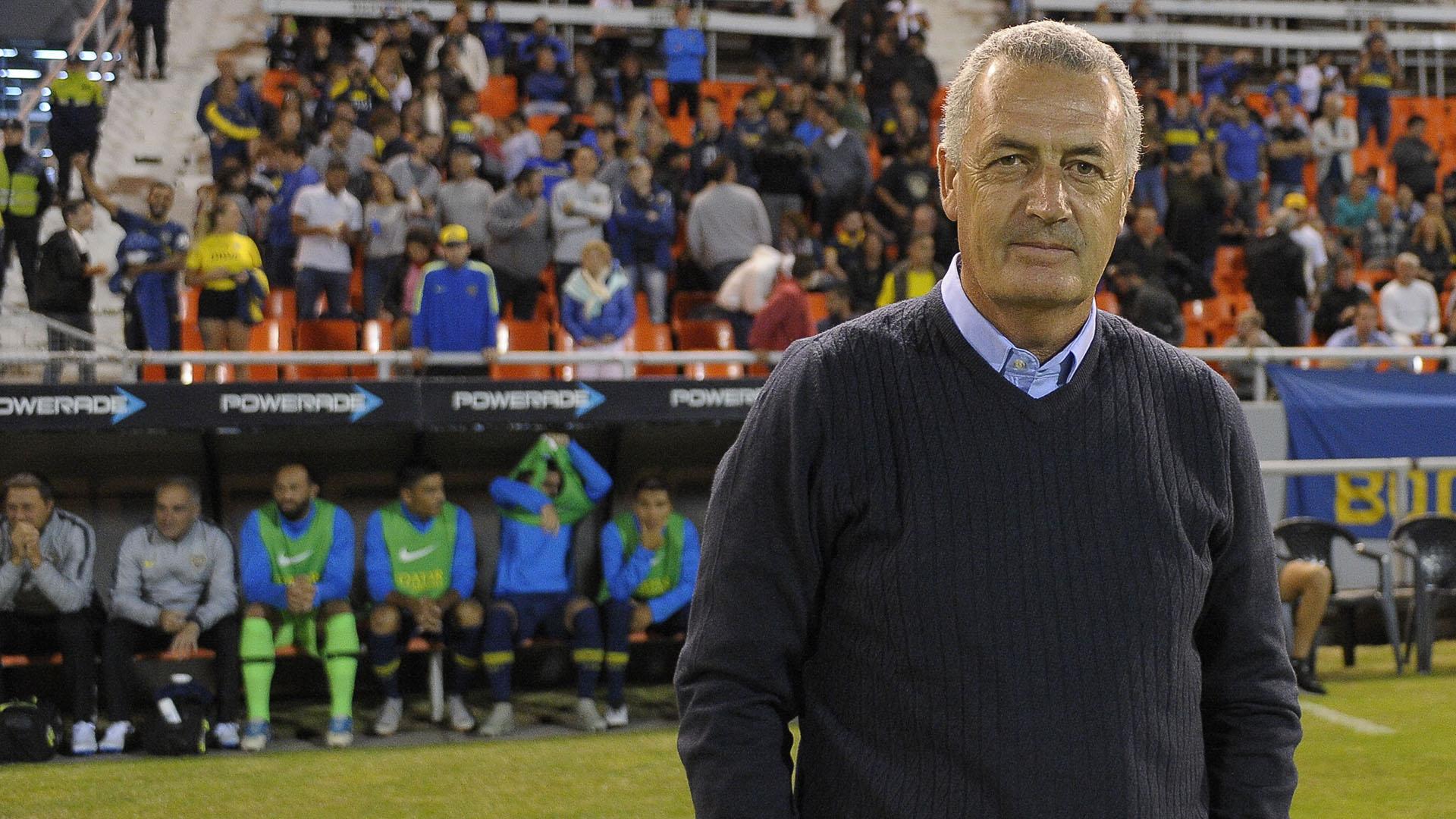 Alfaro tuvo dos pruebas en Boca: derrota ante Unión y victoria frente a Aldosivi (Foto Baires)