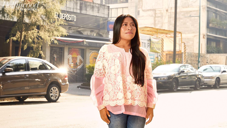 La actriz oaxaqueña que ha impactado por su reveladora actuación en la película ROMA de Alfonso Cuarón (Foto: The Hollywood Reporter)