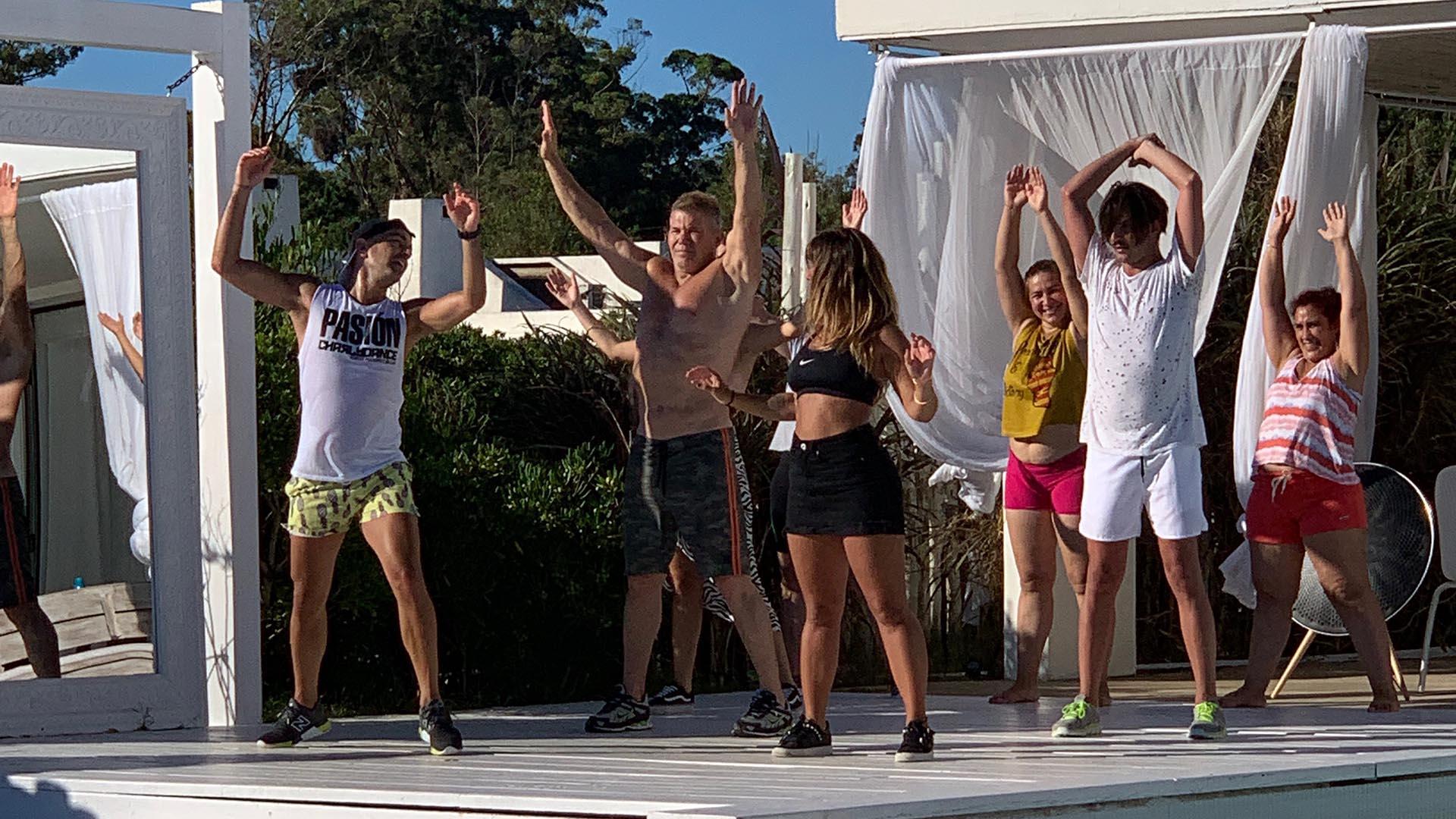 Toda una revelación en el Bailando 2015, Fernando mostró que aún conserva intactas sus dotes a la hora del baile (GM Press)