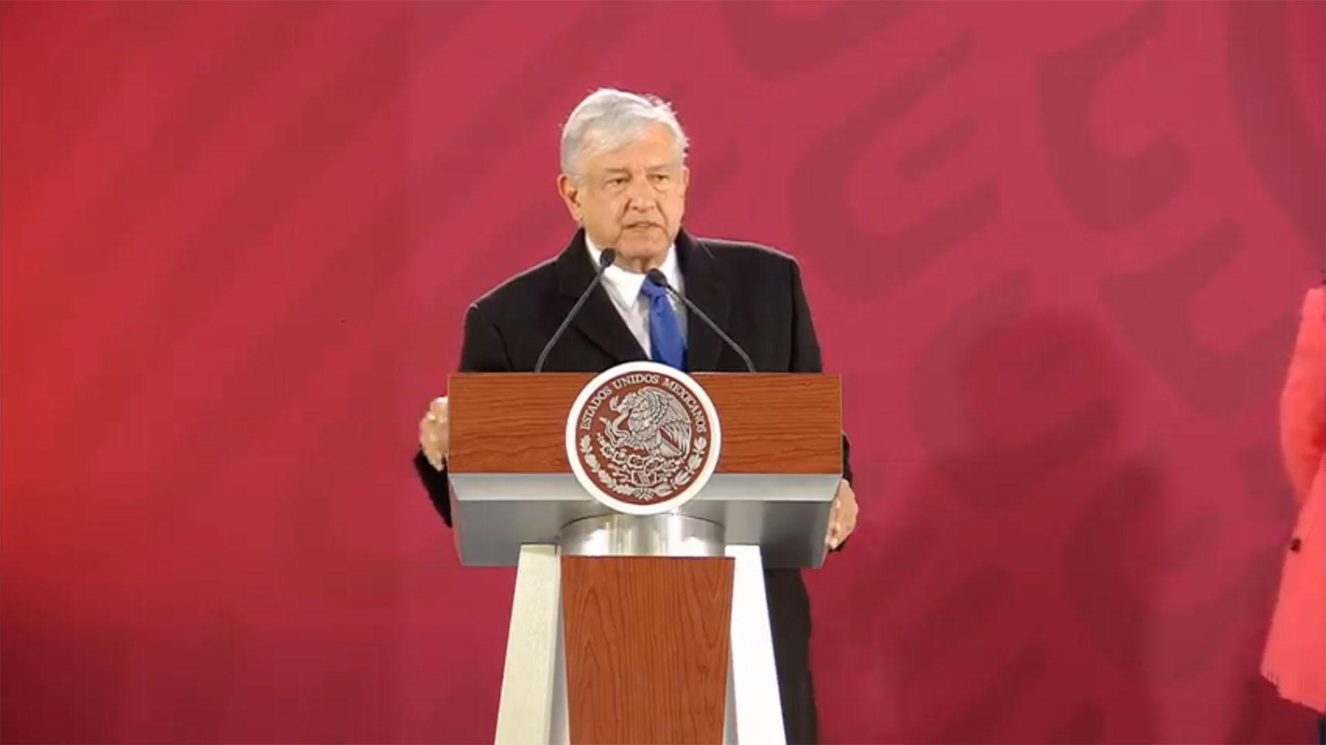 López Obrador expresó su inconformidad con los términos de la ley que integra la Guardia Nacional. (Foto: Especial)