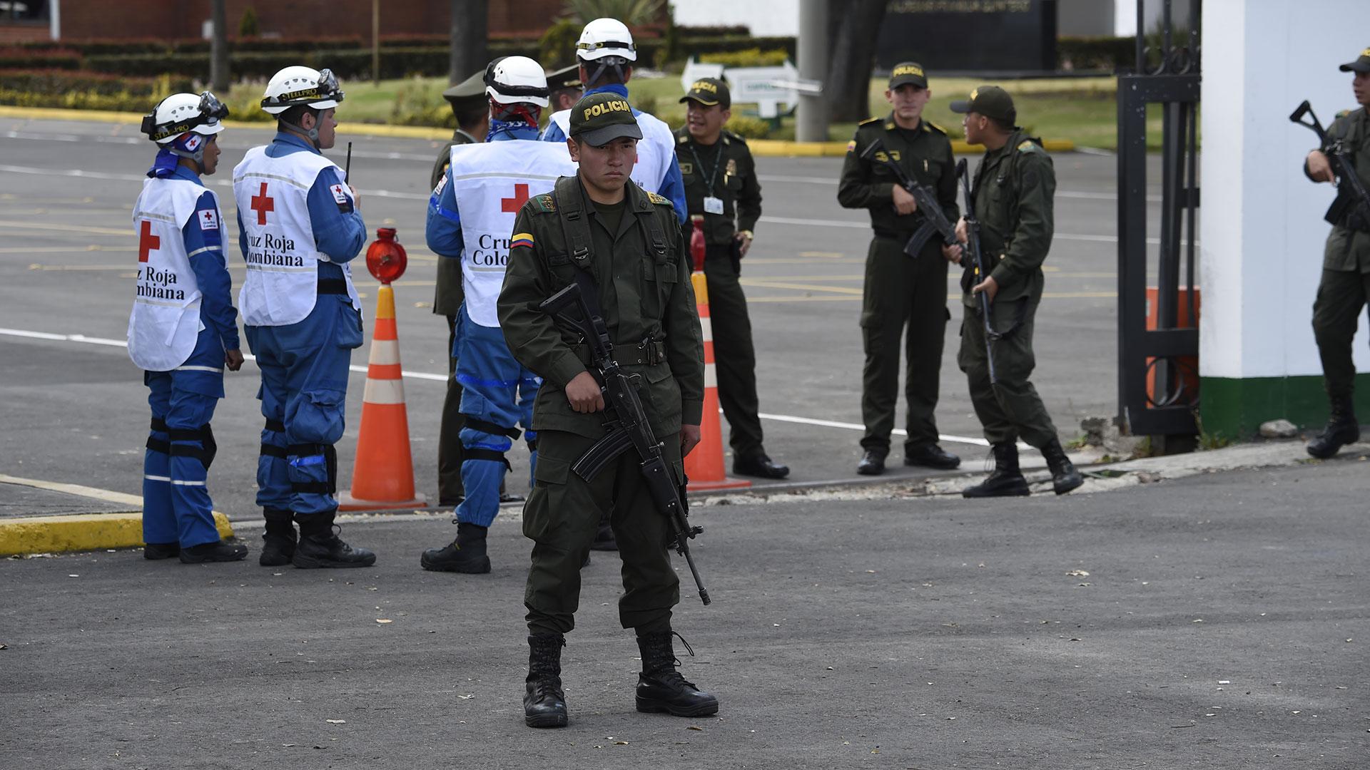 Seis de los heridos entraron de urgencias al Hospital El Tunal (AFP)