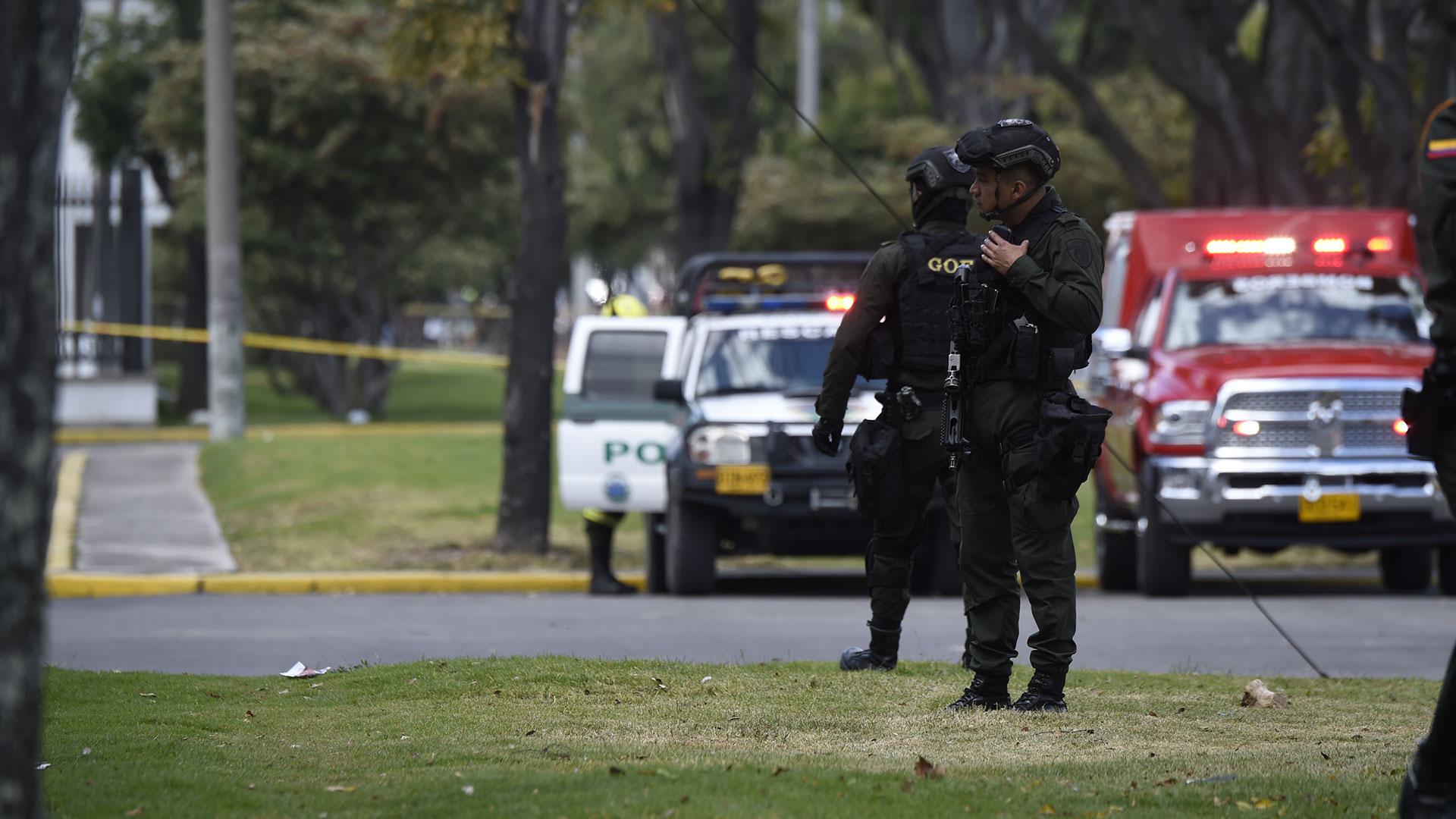 El alcalde de Bogotá, Enrique Peñalosa, confirmó a periodistas la cifra de fallecidos (AFP)