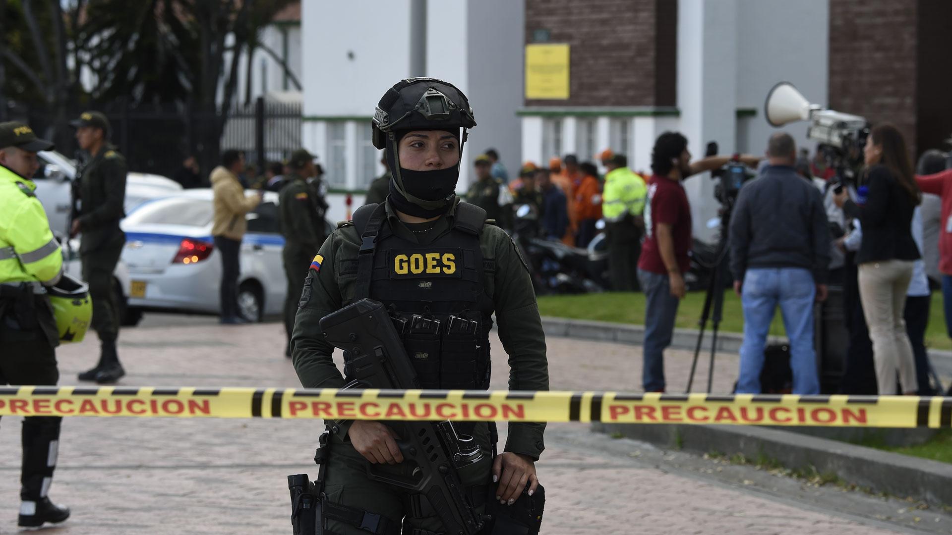 Al momento de la detonación, varios transeúntes resultaron heridos y otros más muertos (AFP)